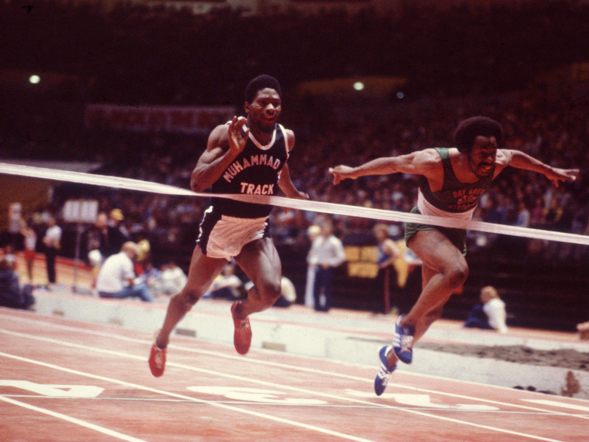 In 1978, McTear set a 60-meter record that would stand for eight years.