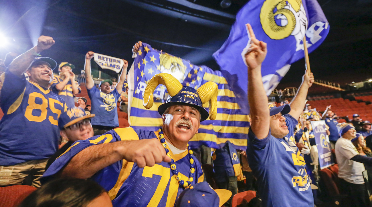 From L A To St Louis And Back How A Rams Superfan