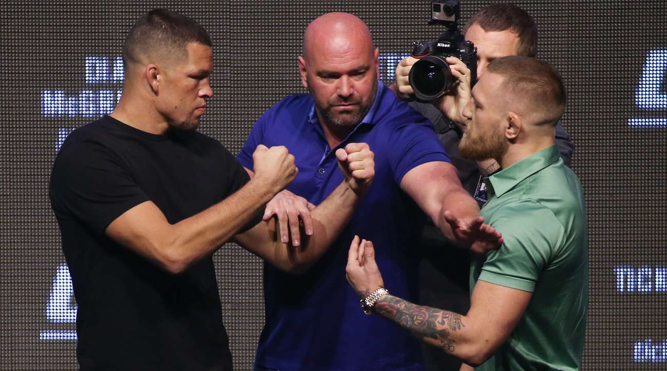 community news, Nate Diaz Conor McGregor rematch highlights 12 bout card at UFC 202