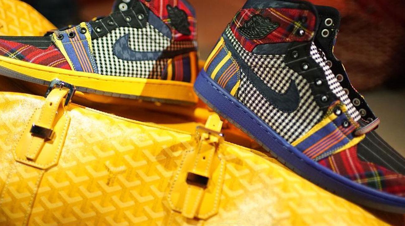 Photos: Air Jordan I model honors Craig Sager