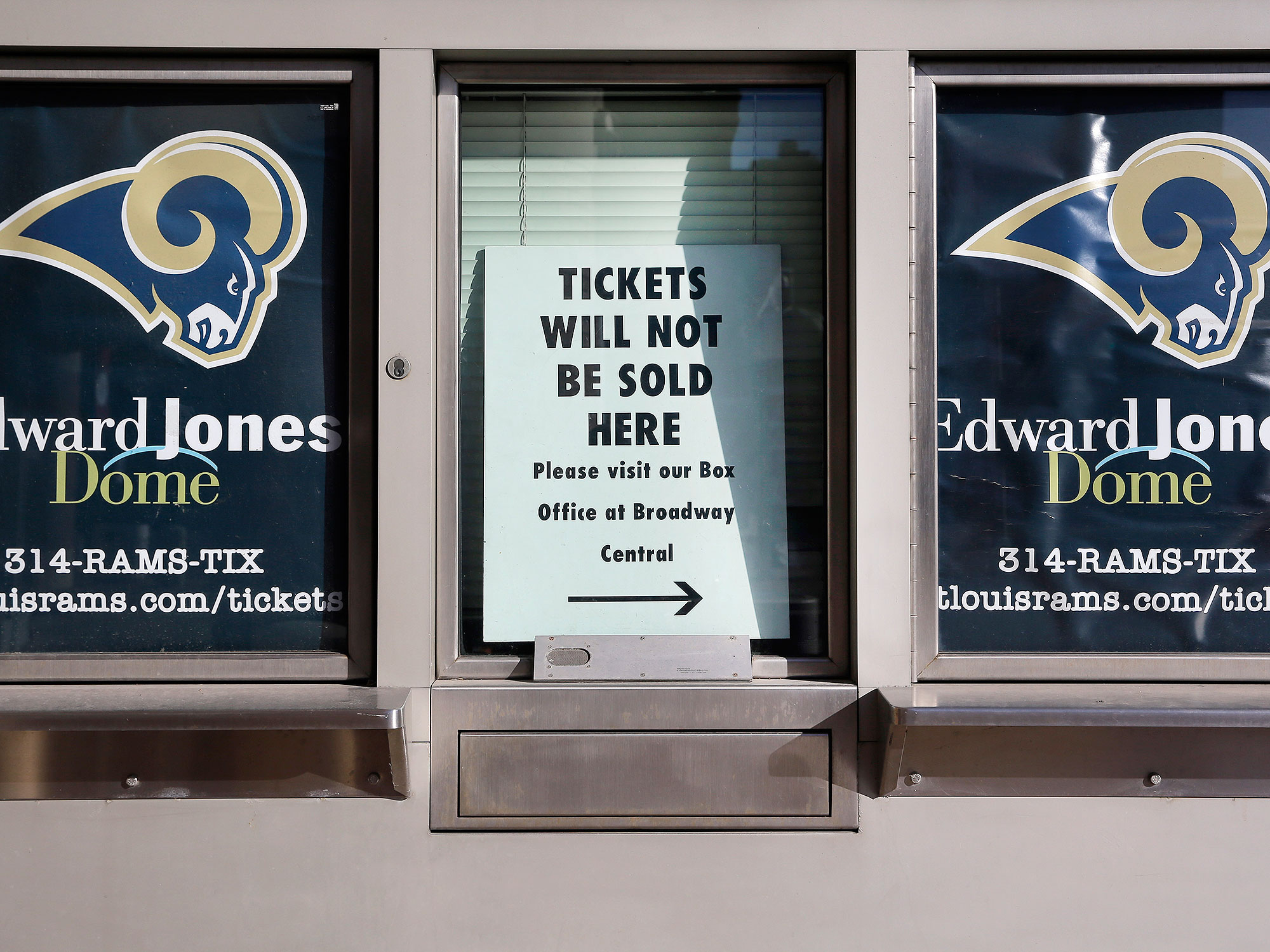 The Rams' relocation leaves their former home free for new, non-football events in the fall.