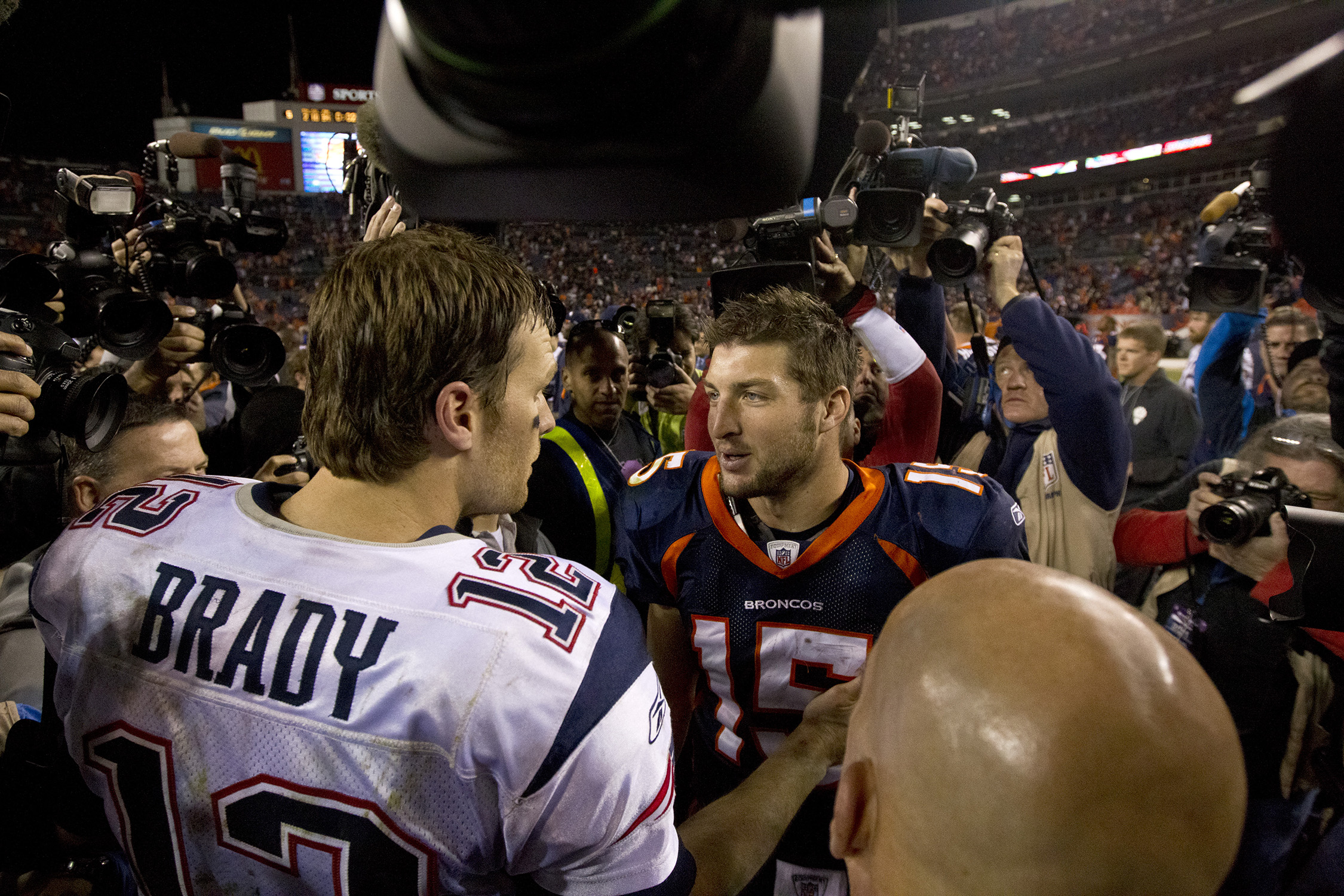 Broncos fans despise Tom Brady. Why? We're not entirely sure. Brady has a losing record against Denver, including a 1–3 mark in the postseason. But the hate is visceral. Maybe because the Pats refused to bow down to Tim Tebow.