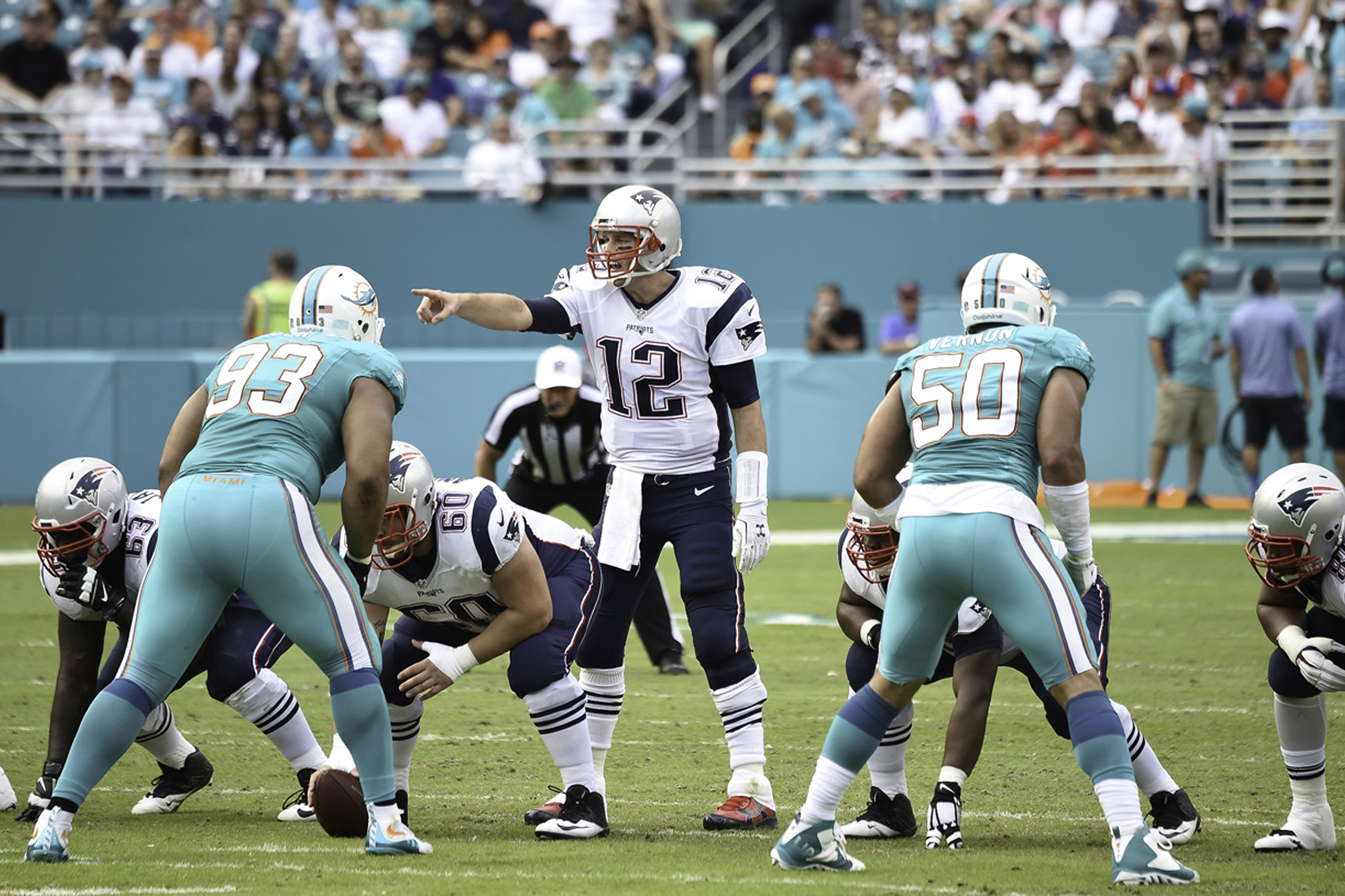 The Dolphins have actually beaten Tom Brady nine times in the regular season, more than any other team. Not bad! But 'Fins fans still hate Brady for dominating the AFC East year after year.