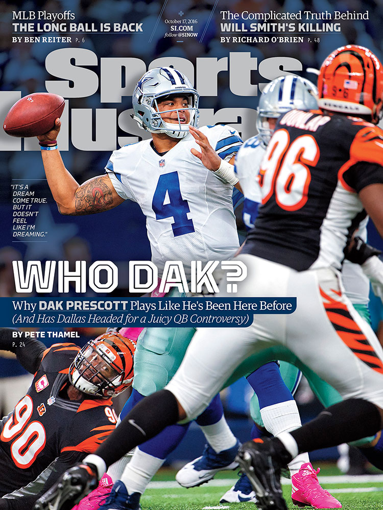 Image result for dak prescott si october