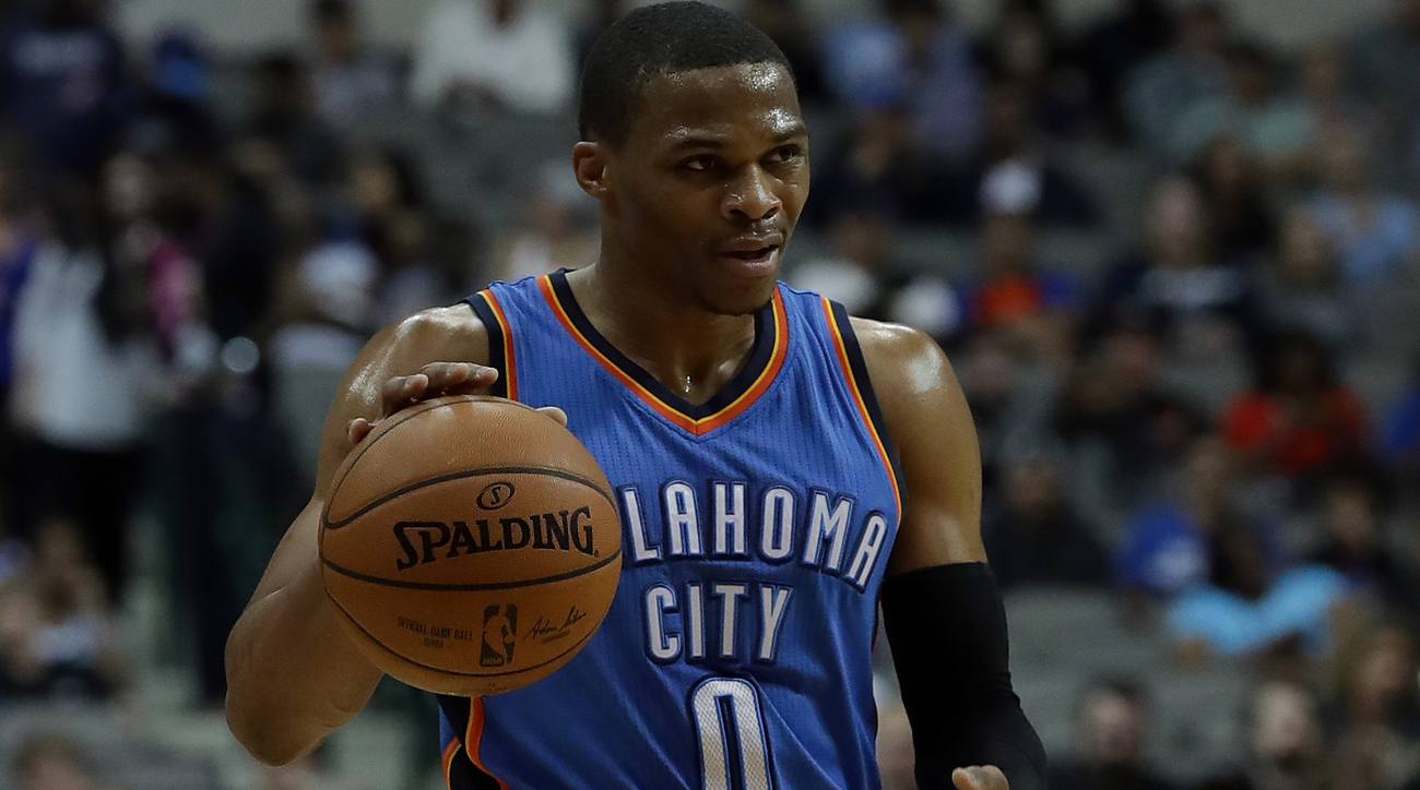 westbrook chat Salt lake city (ap) — russell westbrook is tired of talking about triple-doubles oklahoma city's do-it-all guard fell short of a triple-double for the third consecutive game wednesday night and is beginning to get a little annoyed with all the chatter about him averaging one for the entire season .