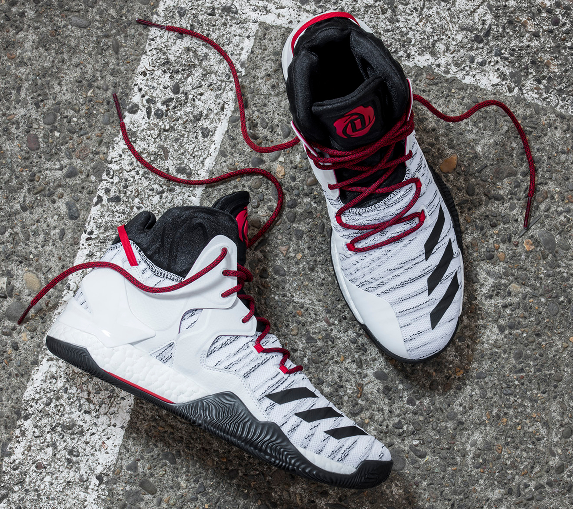 Derrick Rose was dubbed the face of the adidas signature basketball line but injuries have derailed him from tapping into his full potential. Three Stripes has remained loyal to one of its most lucrative stars, and the D Rose 7 follows along with the Crazylight Boost in regards to tech. Price — $160