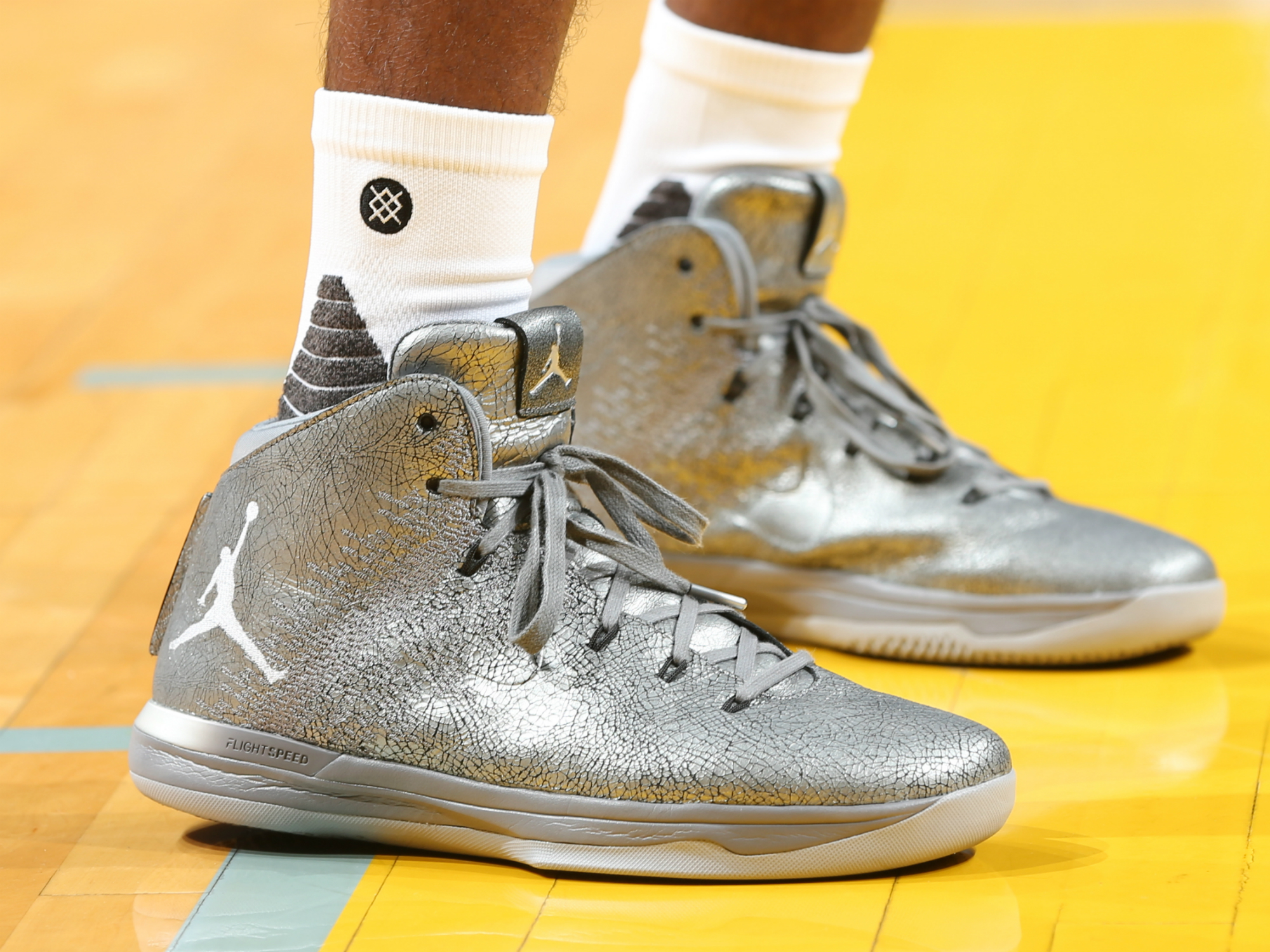 "Mike Conley - Air Jordan XXXI ""Battle Grey"""
