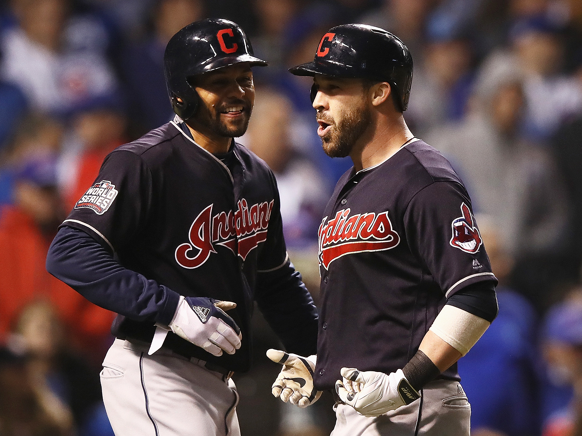 Cleveland Indians Take Game Four of World Series