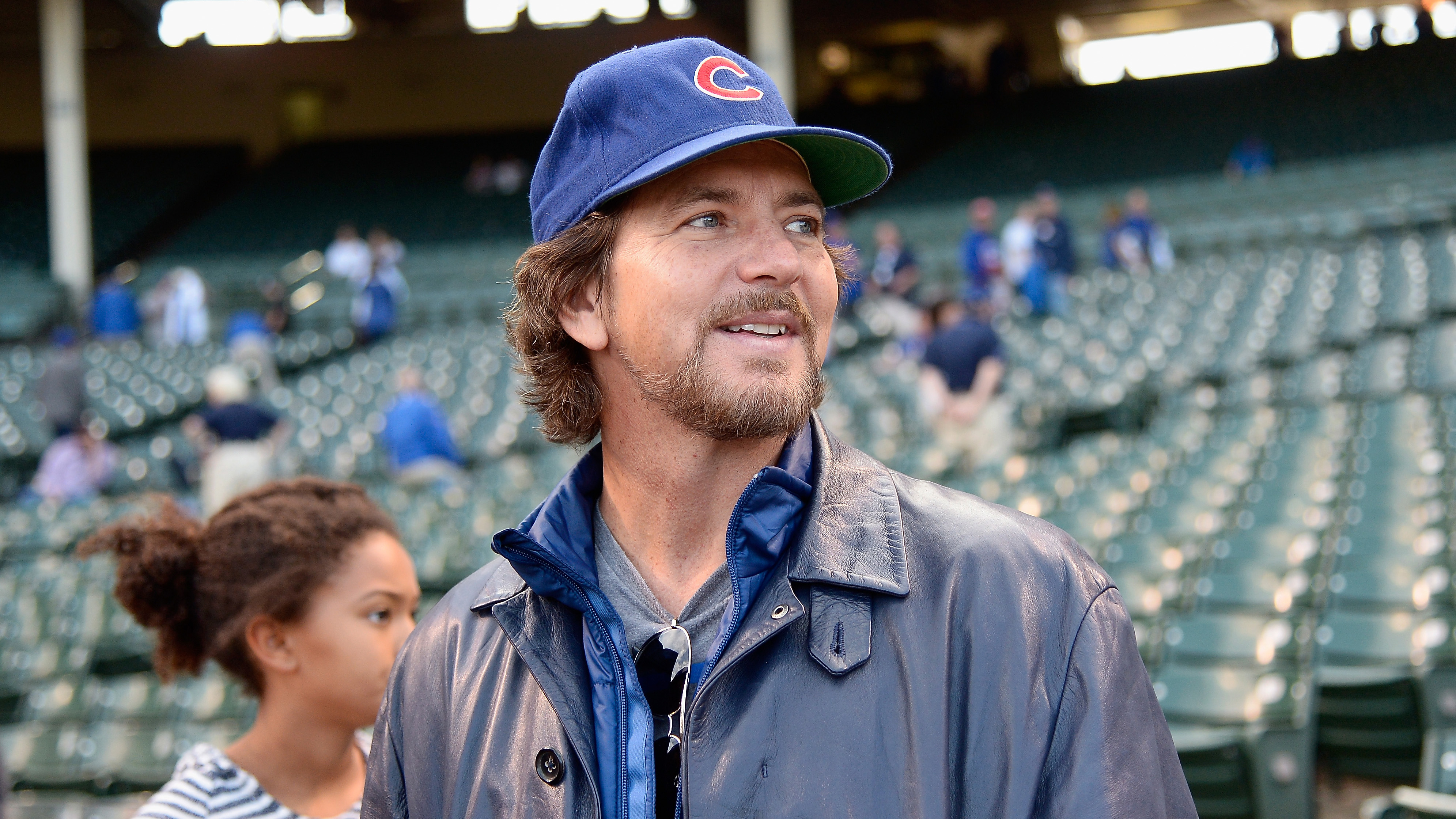 Watch: Pearl Jam front man Eddie Vedder sings 'Take Me Out to the Ballgame' at Wrigley