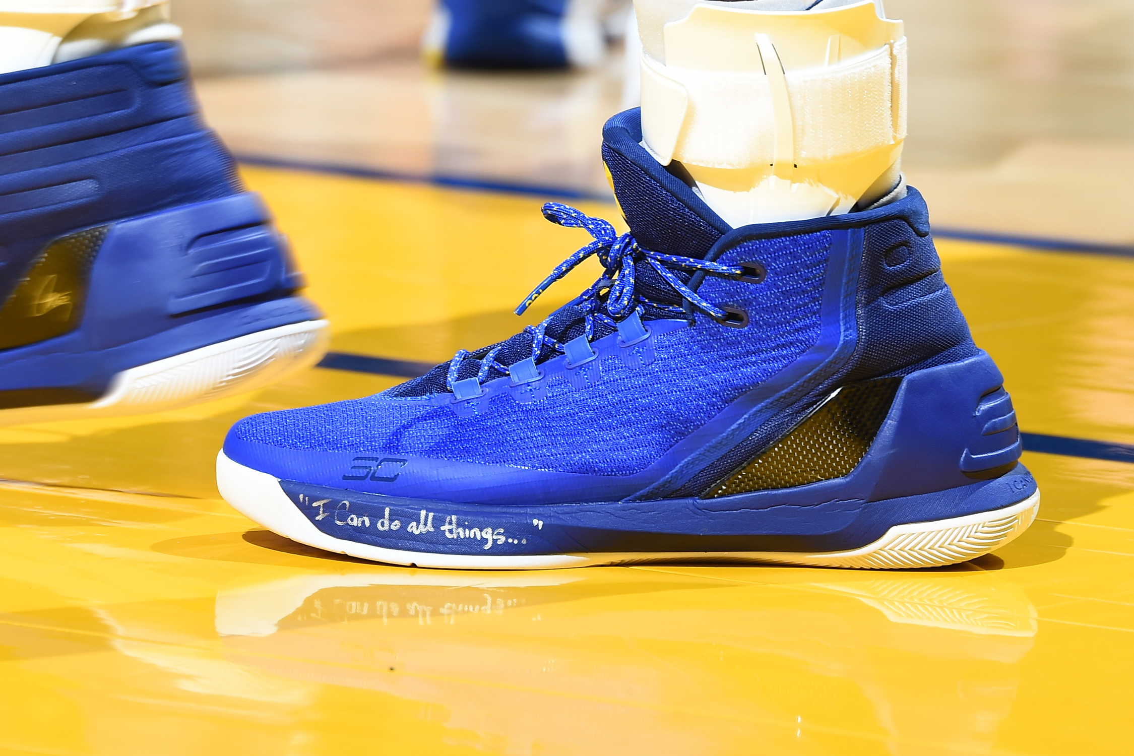 Under Armour Curry 3 worn by Stephen Curry