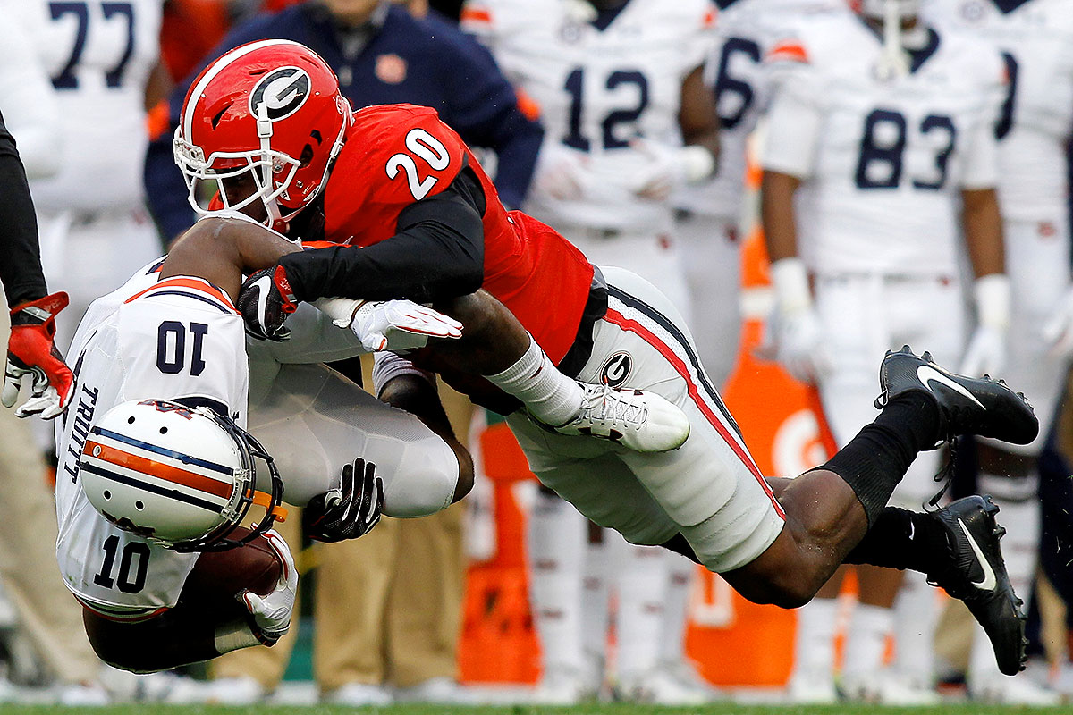 Finishing the season 7–5 isn't quite what the Bulldogs had in mind for 2016, but looking on the bright side? Their defense only loses two players to graduation, one of whom is Mauger. The senior got two interceptions in Georgia's win against Missouri—after having zero takeaways in 2015—and he racked up a season-high five tackles against Ole Miss. Mauger has strong play recognition and sticks with his receiver throughout the play, which will be crucial against the high-powered TCU offense in the Liberty Bowl.
