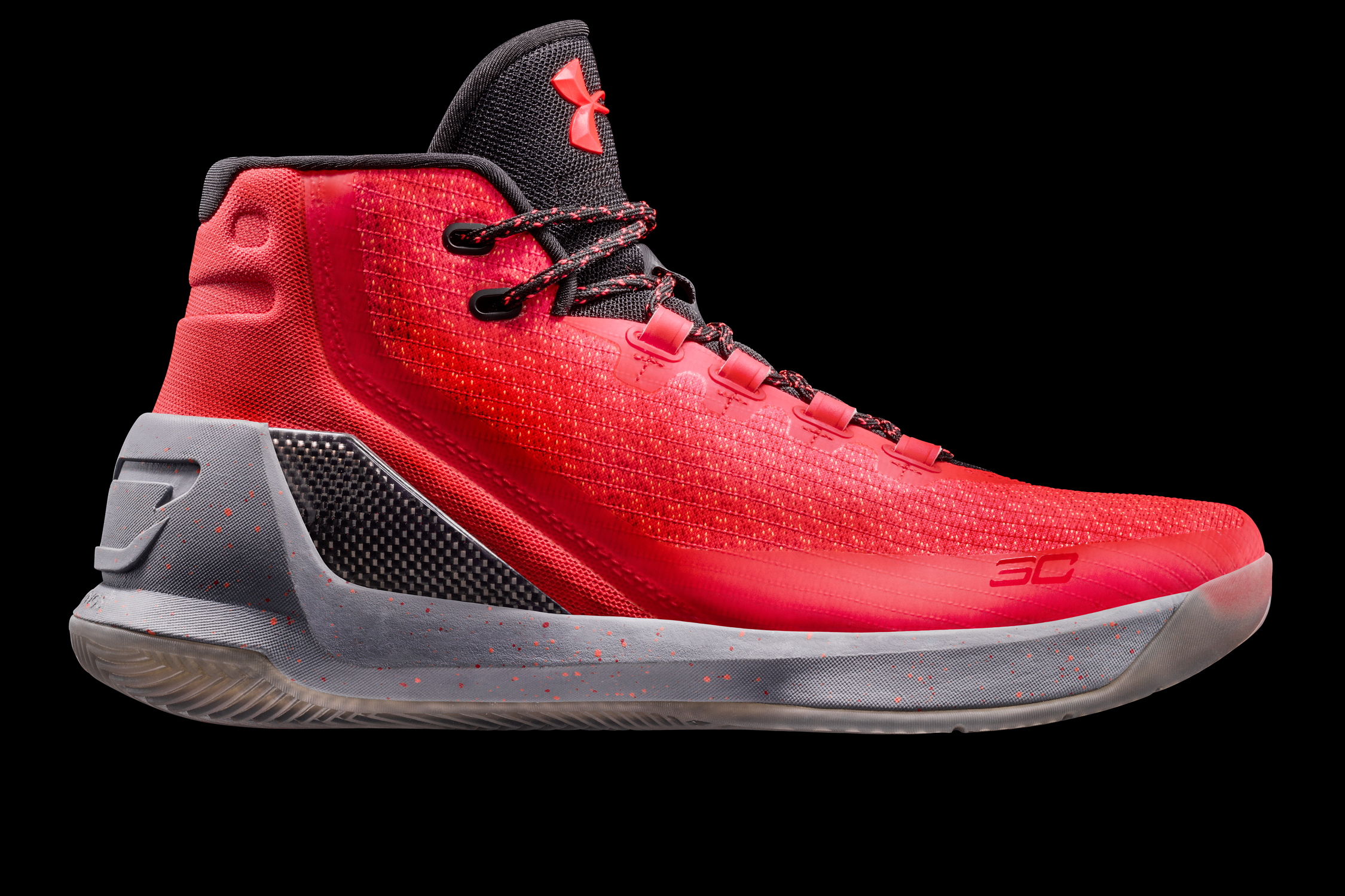 Our best guess for Stephen Curry's Christmas Day shoe is this 'Red Hot Santa' colorway.