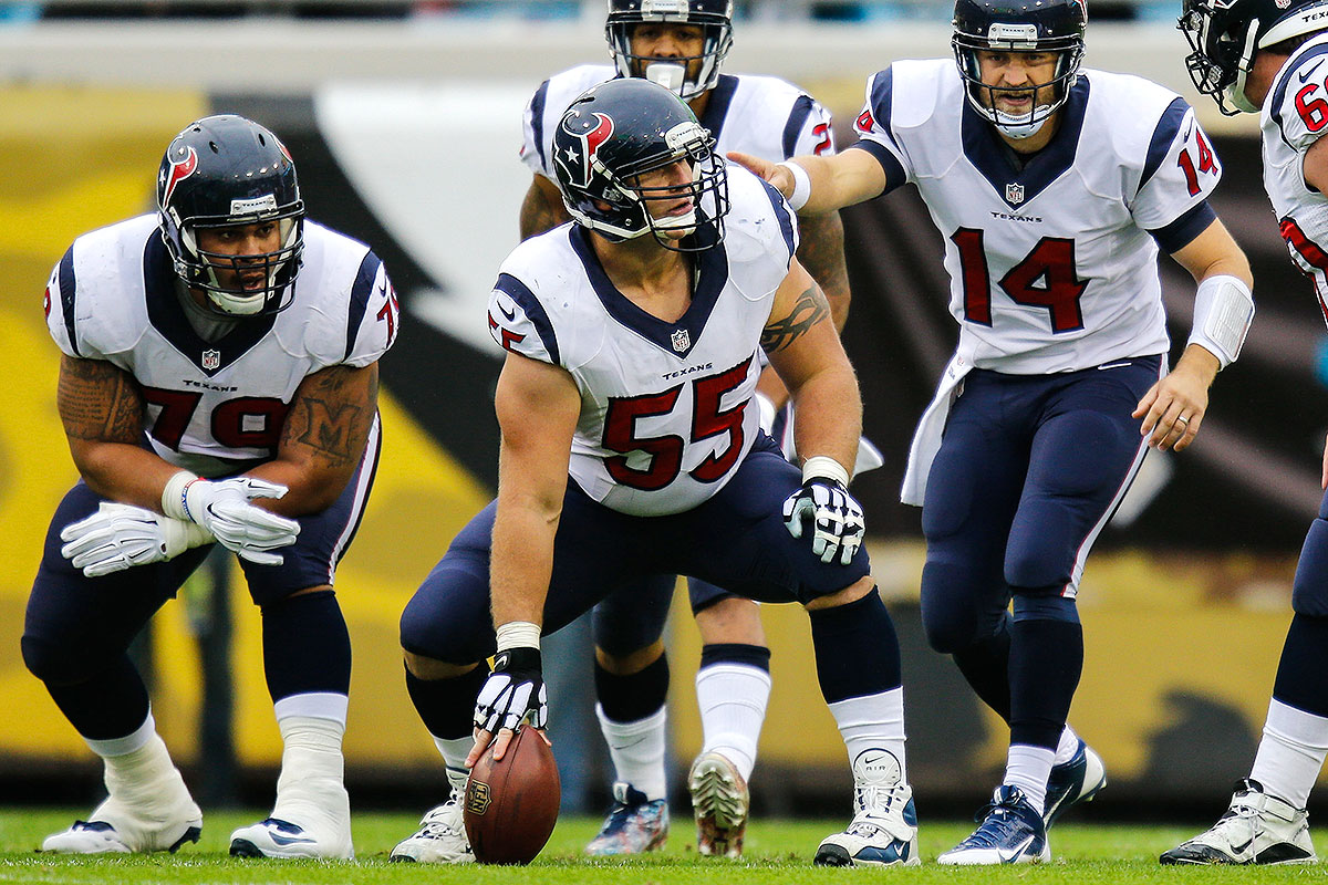 Of all the sixth-round linemen drafted since 2000, there have been a grand total of three Pro Bowl berths earned. Myers has two of them—they came back-to-back in 2011 and '12, when he was a member of the Texans' O-line. Granted, those performances (and most of Myers's career) came with him lined up as a center. But he played guard for a spell in college at Miami, and then did so again briefly for the Broncos. There is more strength at center than guard in recent Round 6 history, so for the purpose of maxing out this imaginary roster, Myers is bumping over a spot.