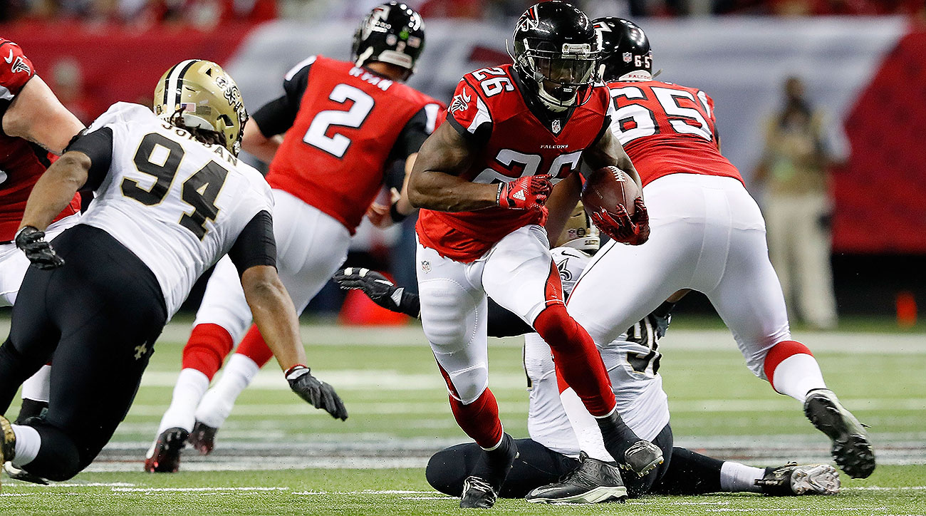 After injuries kept his rookie year from ever getting off the ground, Coleman has become a central part of the Falcons' diverse offense.