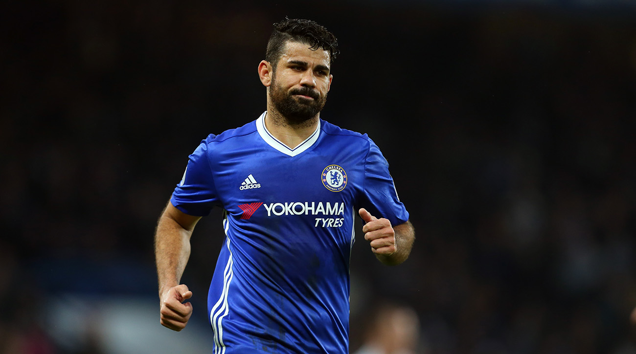 Report: Conte drops Diego Costa from Chelsea squad amid conflict, China offer