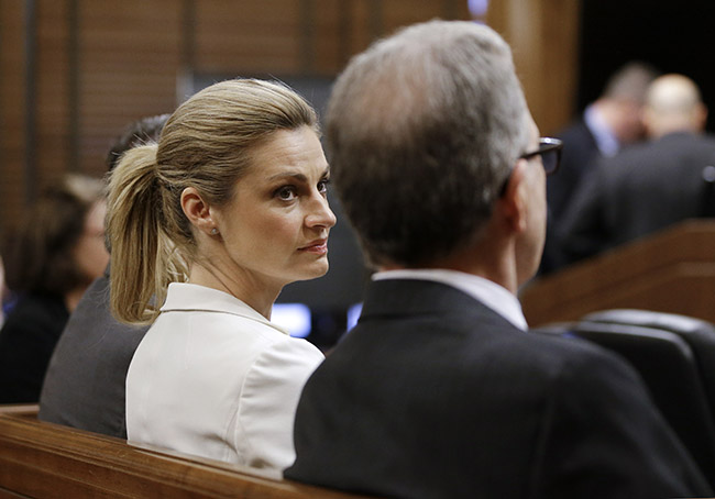 Andrews stayed strong throughout a difficult civil trial.