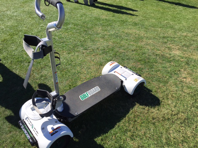 Golfboards are easier to use and more fun than they look for Narrow golf cart