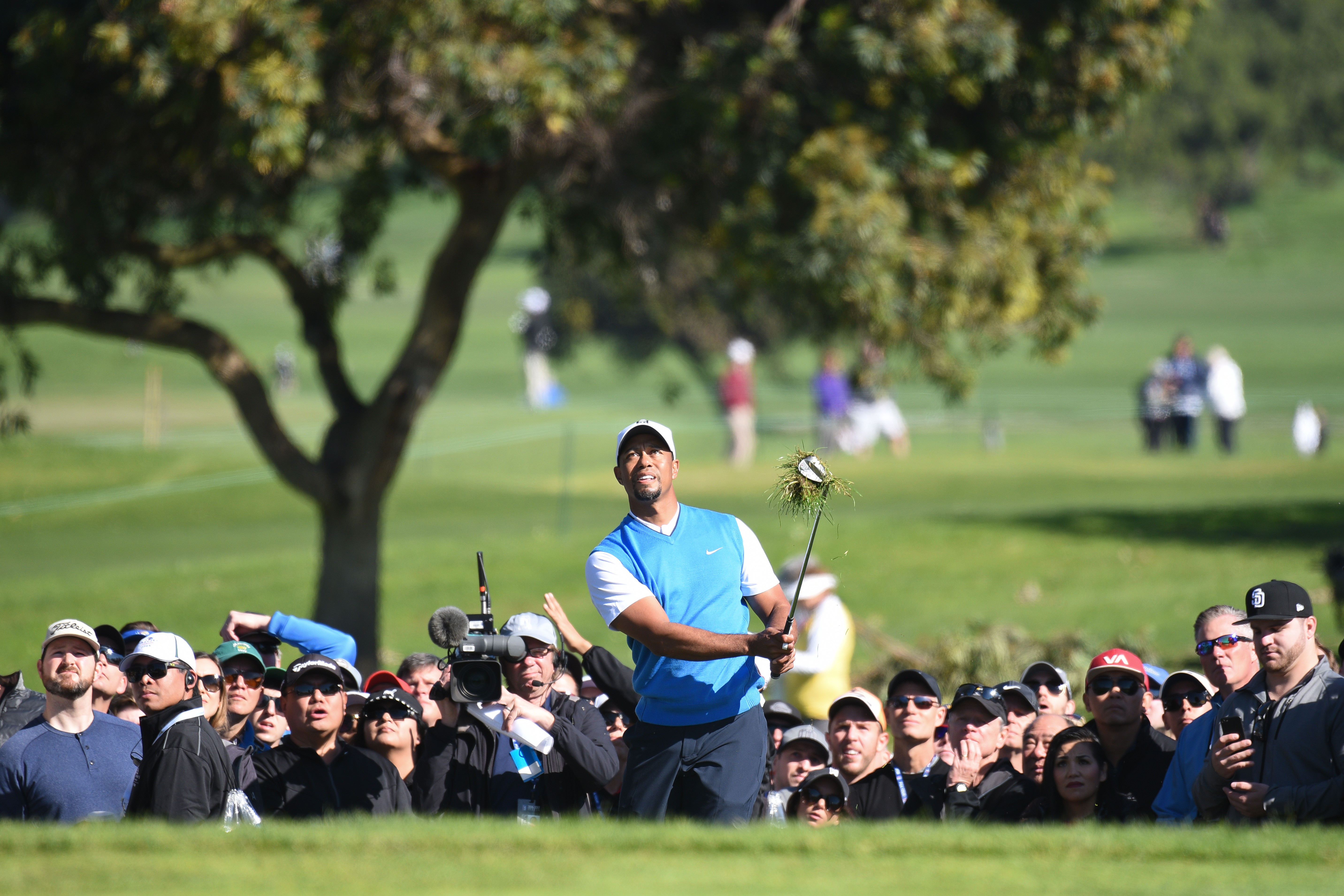 Tiger Woods made his much-anticipated return to the PGA Tour on Thursday.