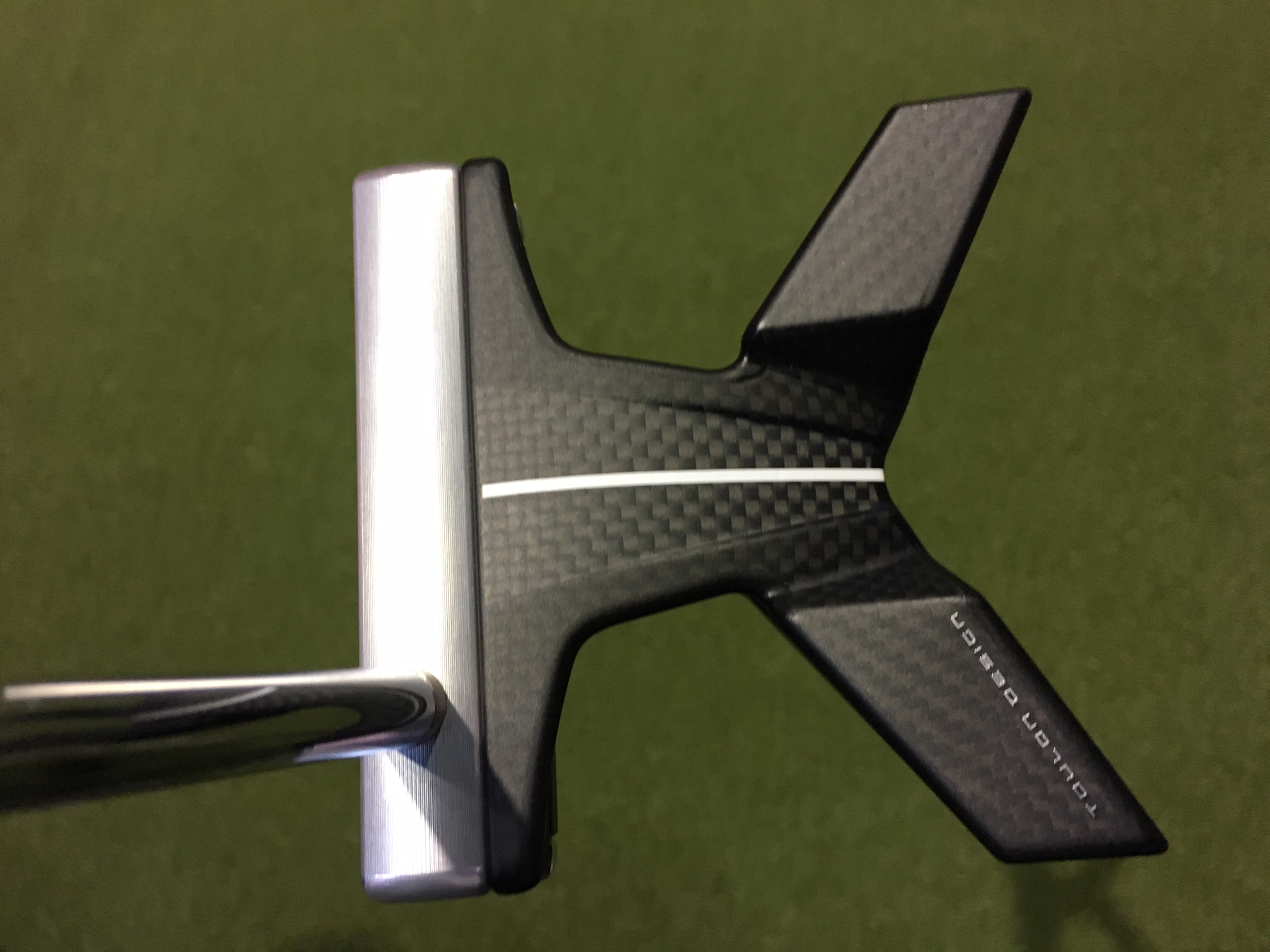 The Indianapolis from Toulon Design is the company's first shot at a high-MOI mallet.