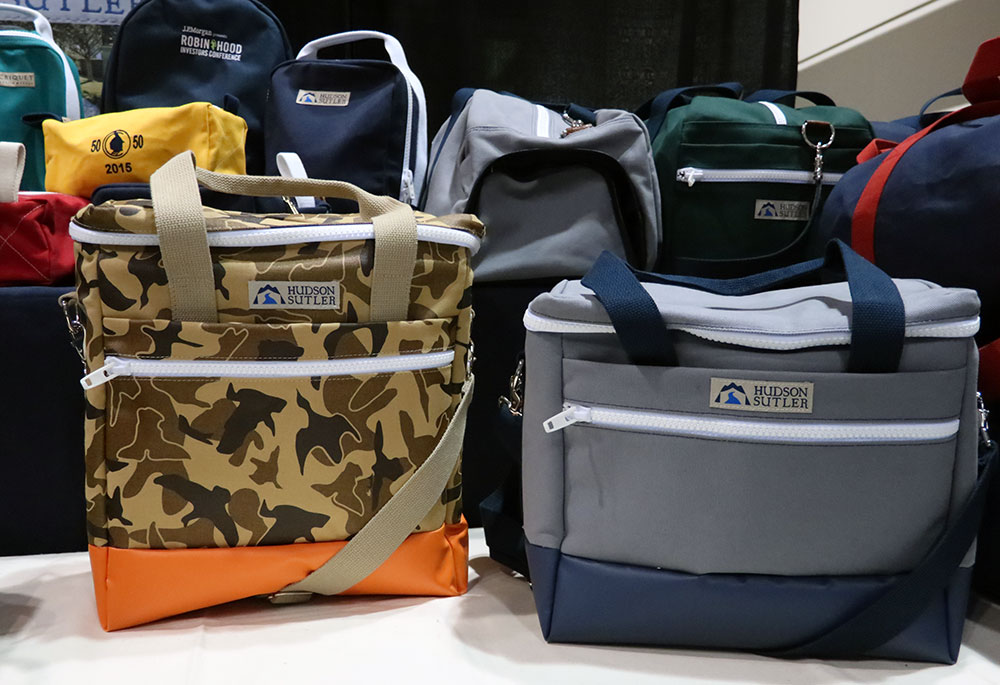 The 18-can and 30-can cooler bags from Hudson Sutler.
