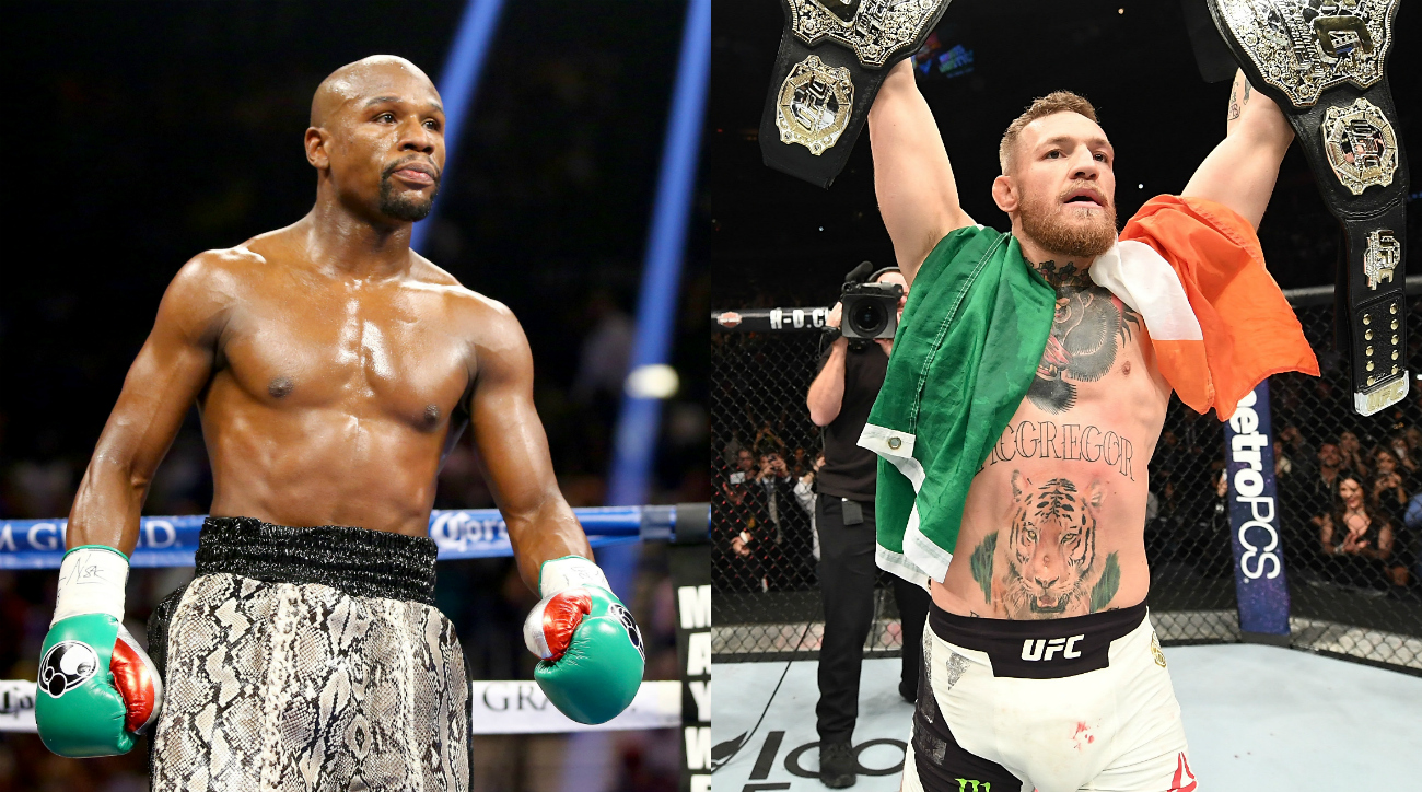Floyd Mayweather says fight against Conor McGregor