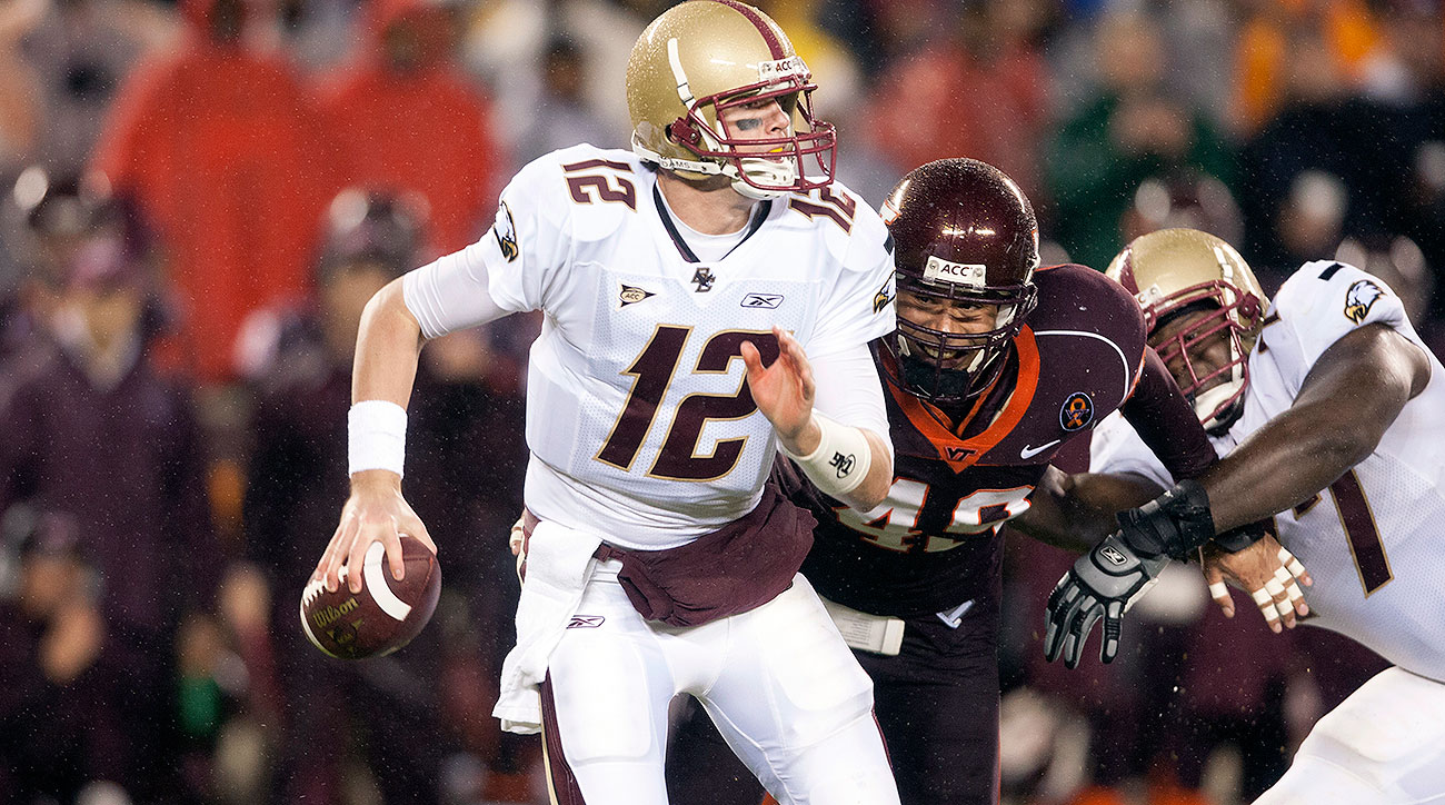 The Eagles' 10-point fourth-quarter comeback in Blacksburg was the defining moment of Ryan's final season at BC.
