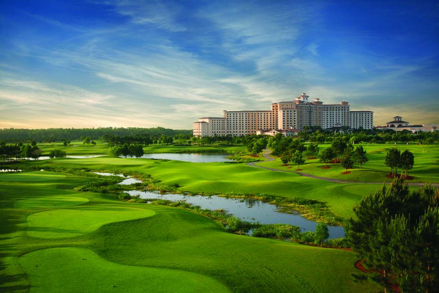 Shingle Creek Golf Club offers amazing golf and amazing views of the Central Florida landscape.