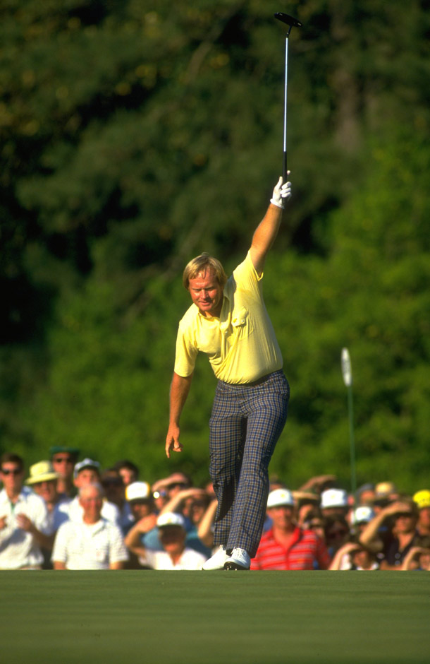 """Cup your ear, and you can almost hear the roar around the 17th green at Augusta, coupled with the echo of Verne Lundquist's """"Yessir!"""" call as Jack Nicklaus points his putter to the heavens. And not just any putter. The oversized MacGregor Response ZT that played such a huge part in the Golden Bear's epic '86 Masters win."""
