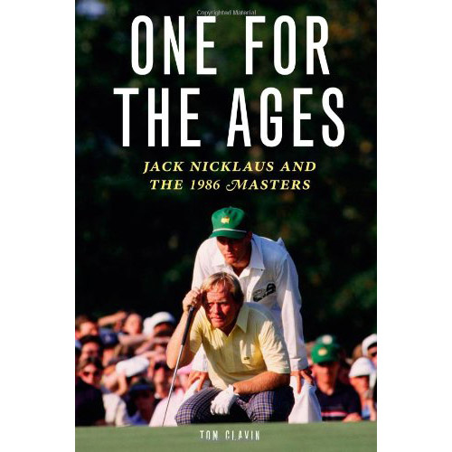 """Augusta. Jack. 1986 -- a threesome still raising goosebumps 25 years after the fact. Clavin marks the anniversary with a mix of Masters' history and a re-creation of events, building his retelling of the Nicklaus ascension on contemporary reportage and the recollections of a few key players. That the 21st century Bear makes nary a cameo is of no consequence; the masterpiece that he left golf hangs eternally on its own. <p><a class=""""standard-button"""" href=""""https://www.amazon.com/gp/product/156976705X/ref=as_li_qf_sp_asin_il_tl?ie=UTF8&tag=golf0527-20&camp=1789&creative=9325&linkCode=as2&creativeASIN=156976705X&linkId=c627315f96c793ddfe7b86644f2a2985"""" target=""""_blank"""">Buy It Now</a></p>"""