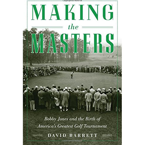 """Say this for David Barrett: He thinks big. Here, he embraces Jones, Clifford Roberts, the genesis of Augusta and the beginnings of the little golf gathering held there every April. Once again, his blend of narrative and research gives the past real presence, swinging through the details of the course's creation and the first two invitationals that served as prologue to so much golfing richness that would follow. <p><a class=""""standard-button"""" href=""""https://www.amazon.com/gp/product/1634502949/ref=as_li_qf_sp_asin_il_tl?ie=UTF8&tag=golf0527-20&camp=1789&creative=9325&linkCode=as2&creativeASIN=1634502949&linkId=db541f9a5405914a40c96bf0bec97c18"""" target=""""_blank"""">Buy It Now</a></p>"""