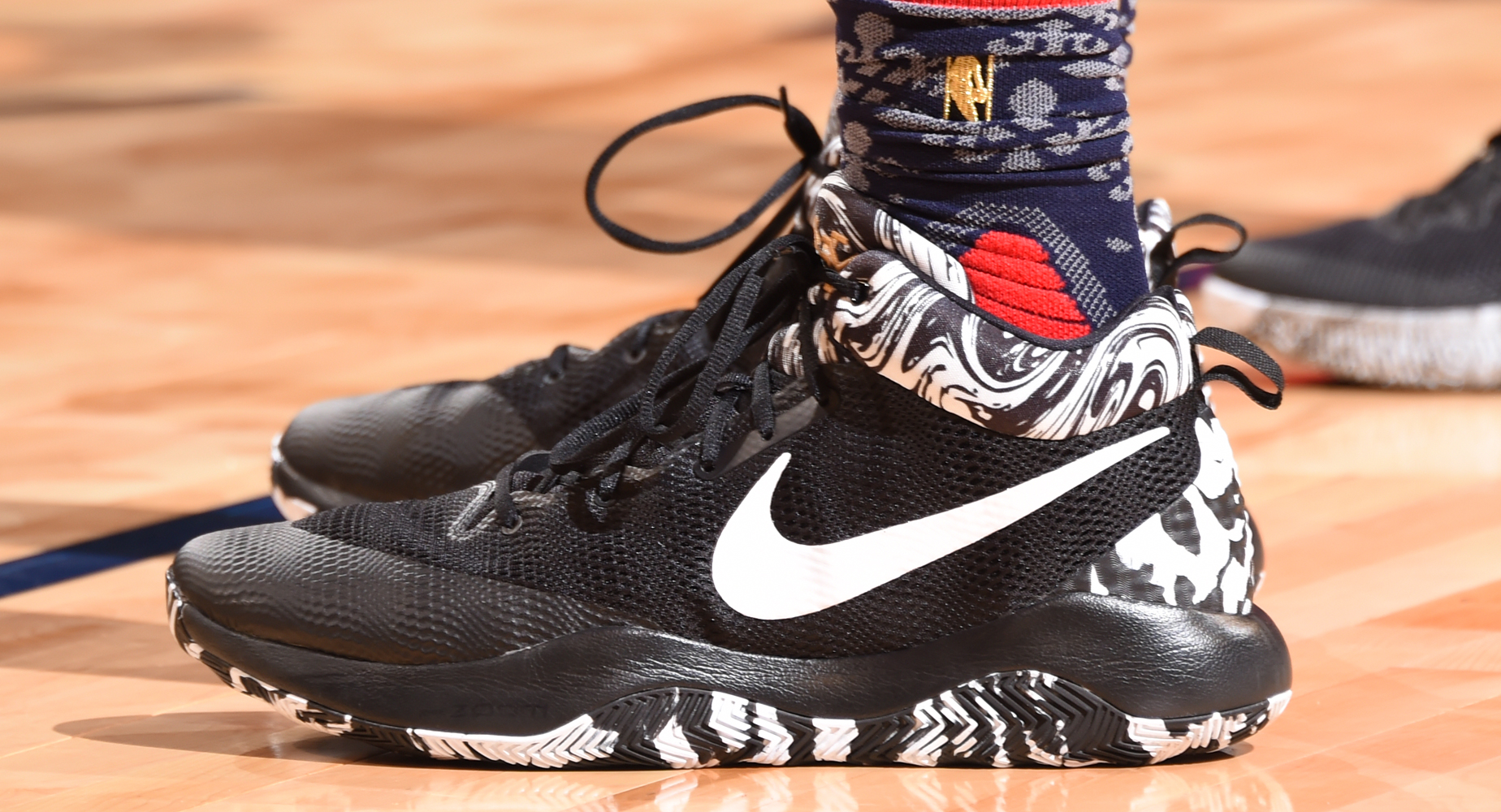 Worn by Devin Booker in the Rising Stars Challenge