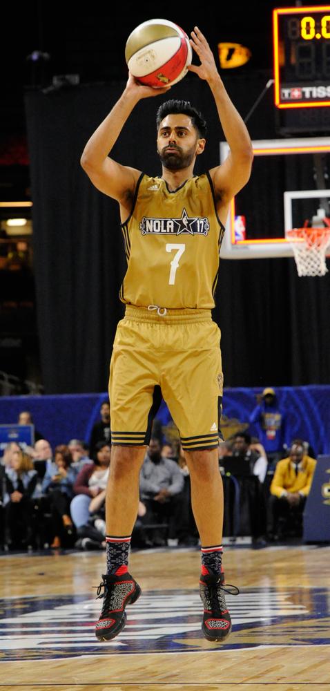 Worn by Hasan Minhaj in the NBA Celebrity Game