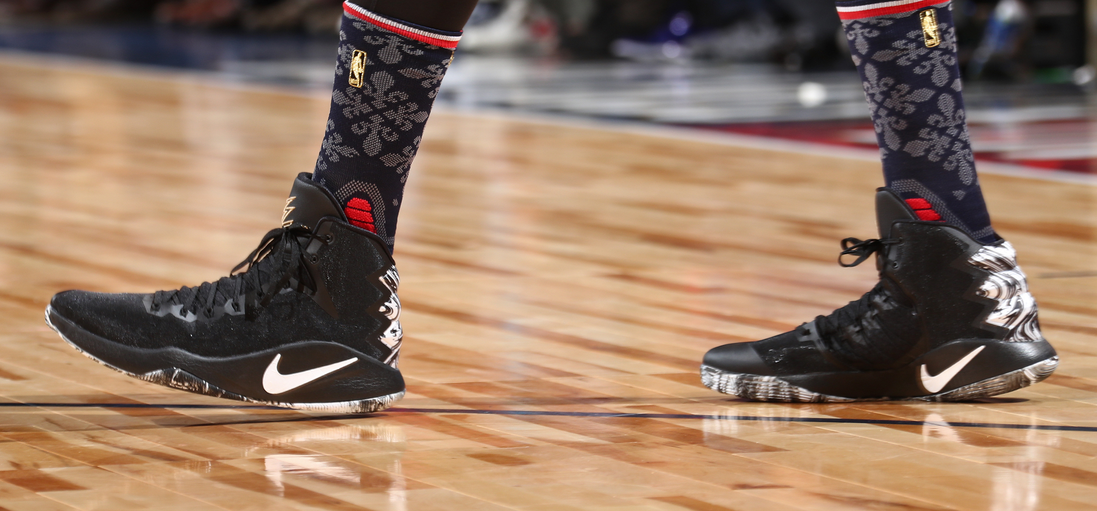 Worn by Karl-Anthony Towns during the Rising Stars Challenge