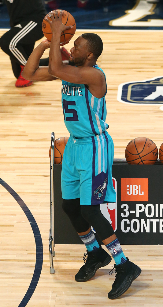 Worn by Kemba Walker during the NBA Three-Point contest