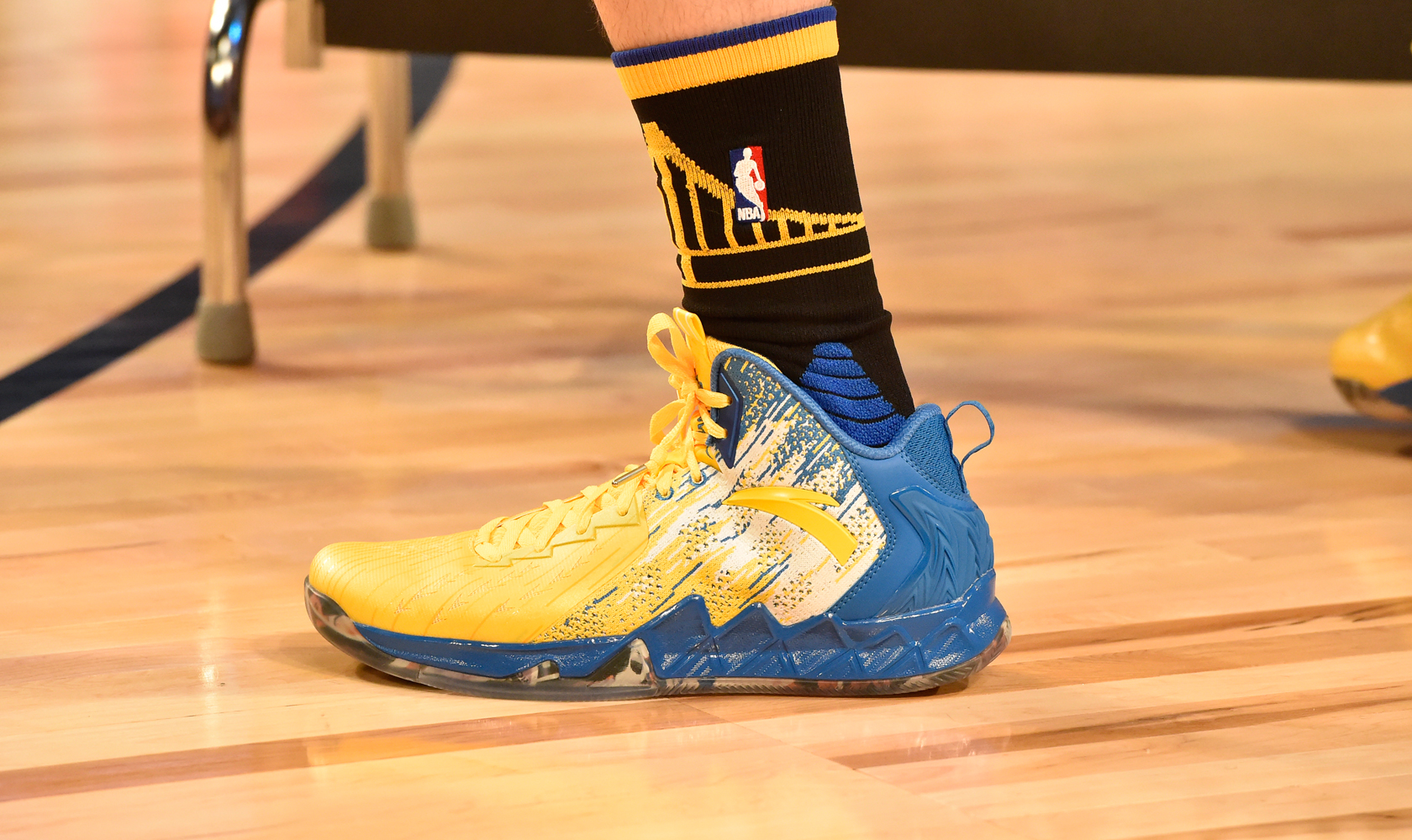Worn by Klay Thompson during the NBA Three-Point contest