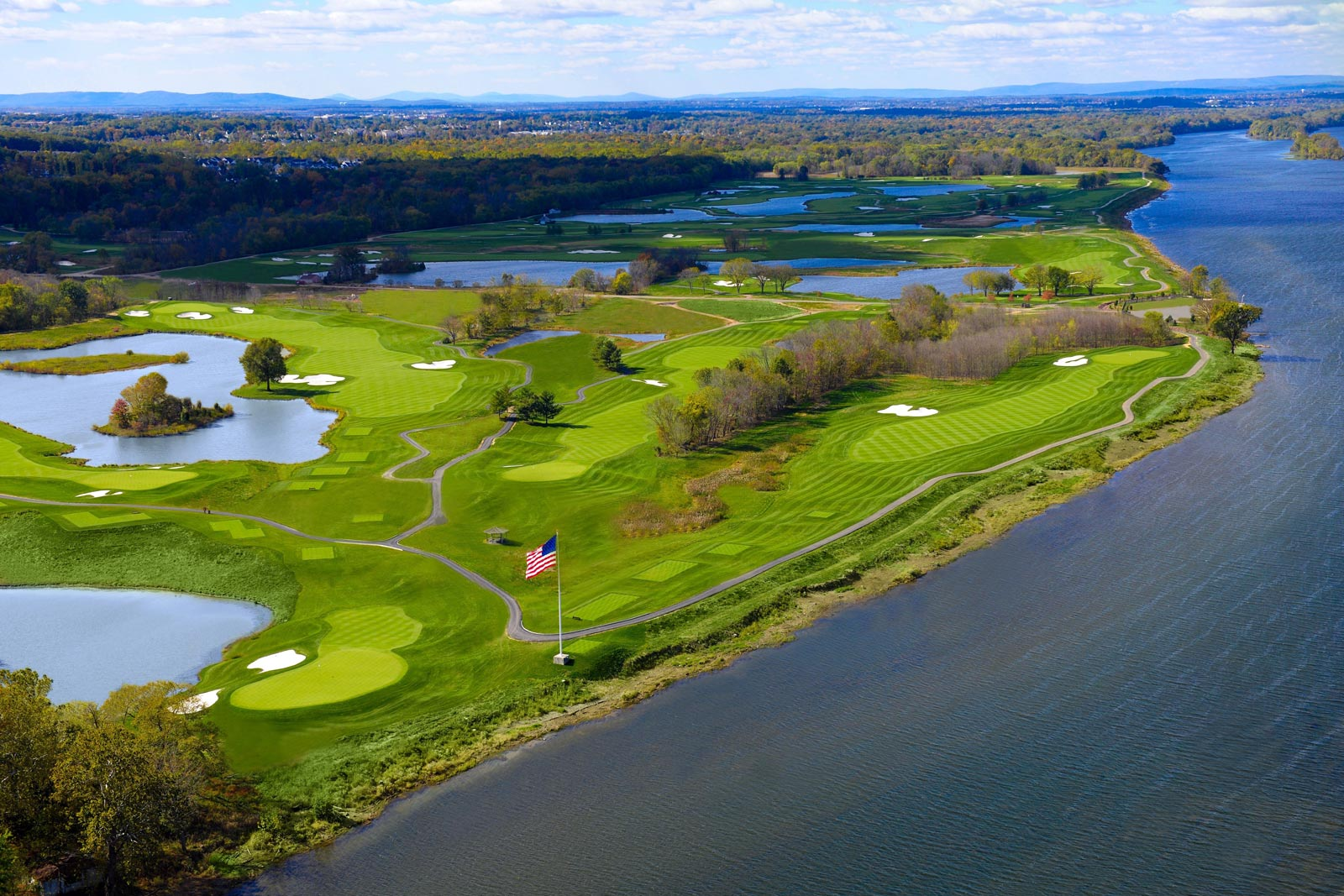 Trump's Washington, D.C.-area course, hard against the Potomac River, will play host to the 2017 Senior PGA Championship in May.