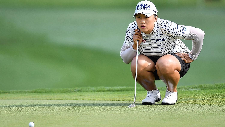 Amy Yang during the third round of the Honda LPGA Thailand