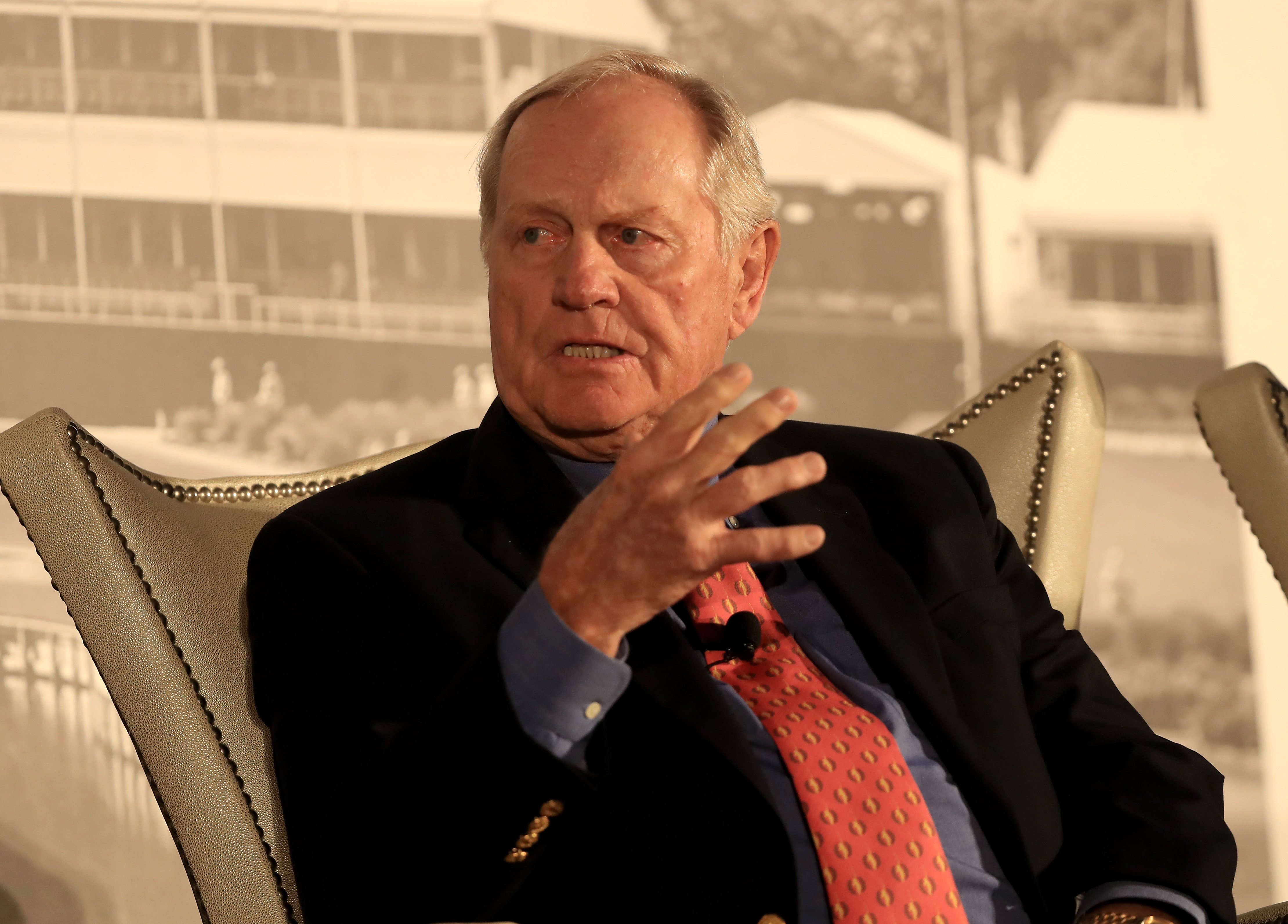 "Jack Nicklaus said he was ""a bit puzzled"" by Tiger Woods's situation."