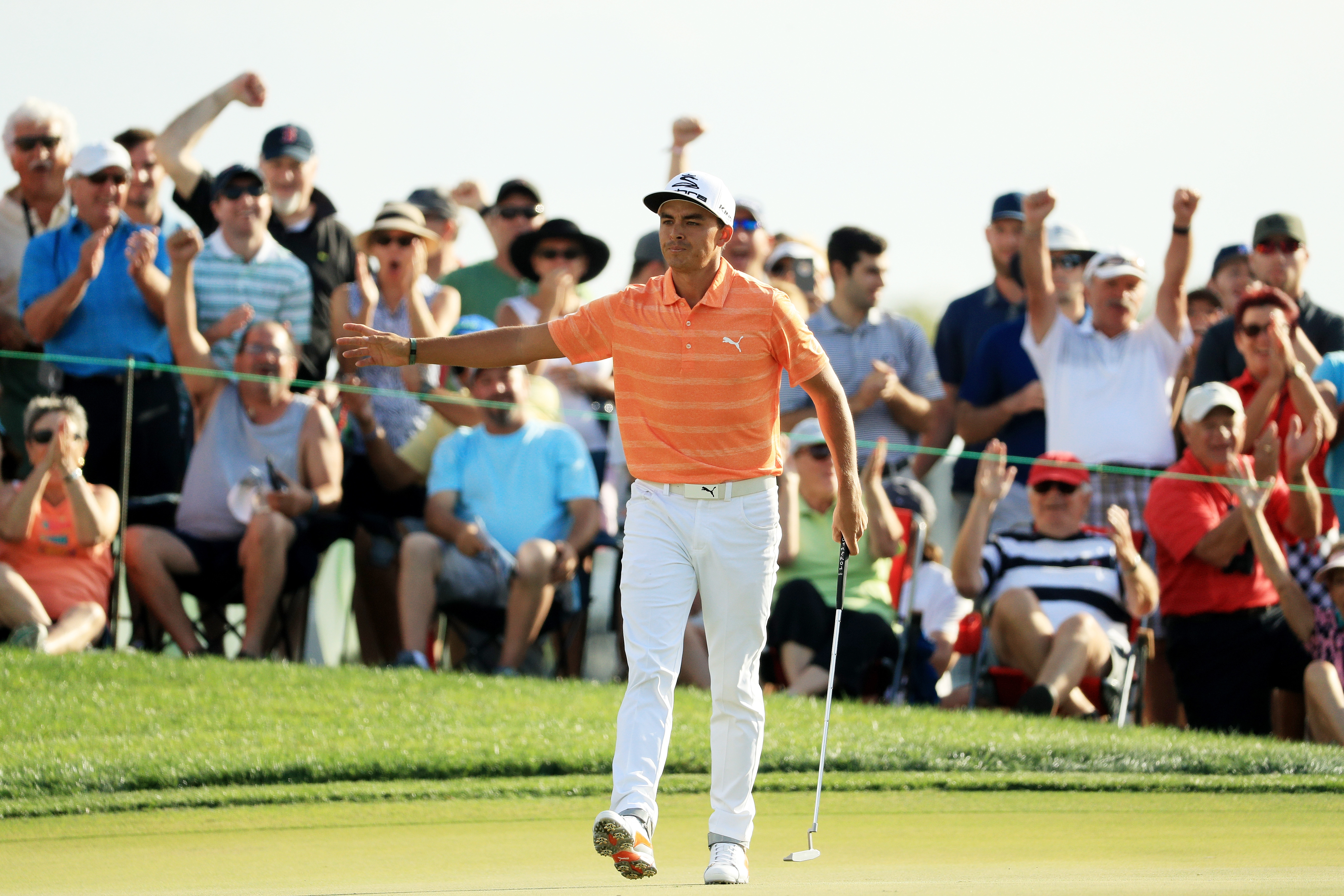 Rickie Fowler made some big back-nine birdies to keep the momentum and win The Honda Classic on Sunday.
