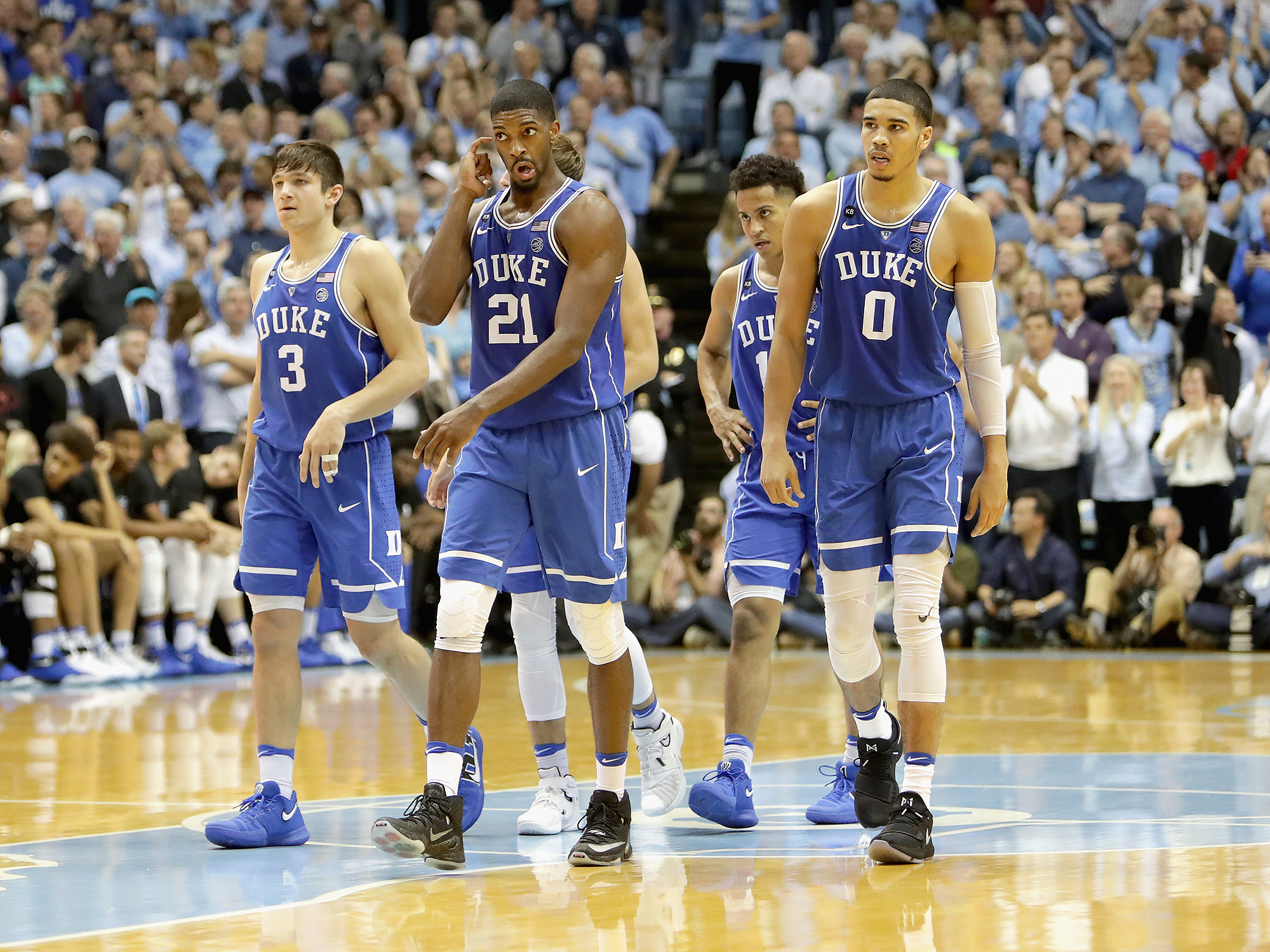 Image result for north carolina vs duke