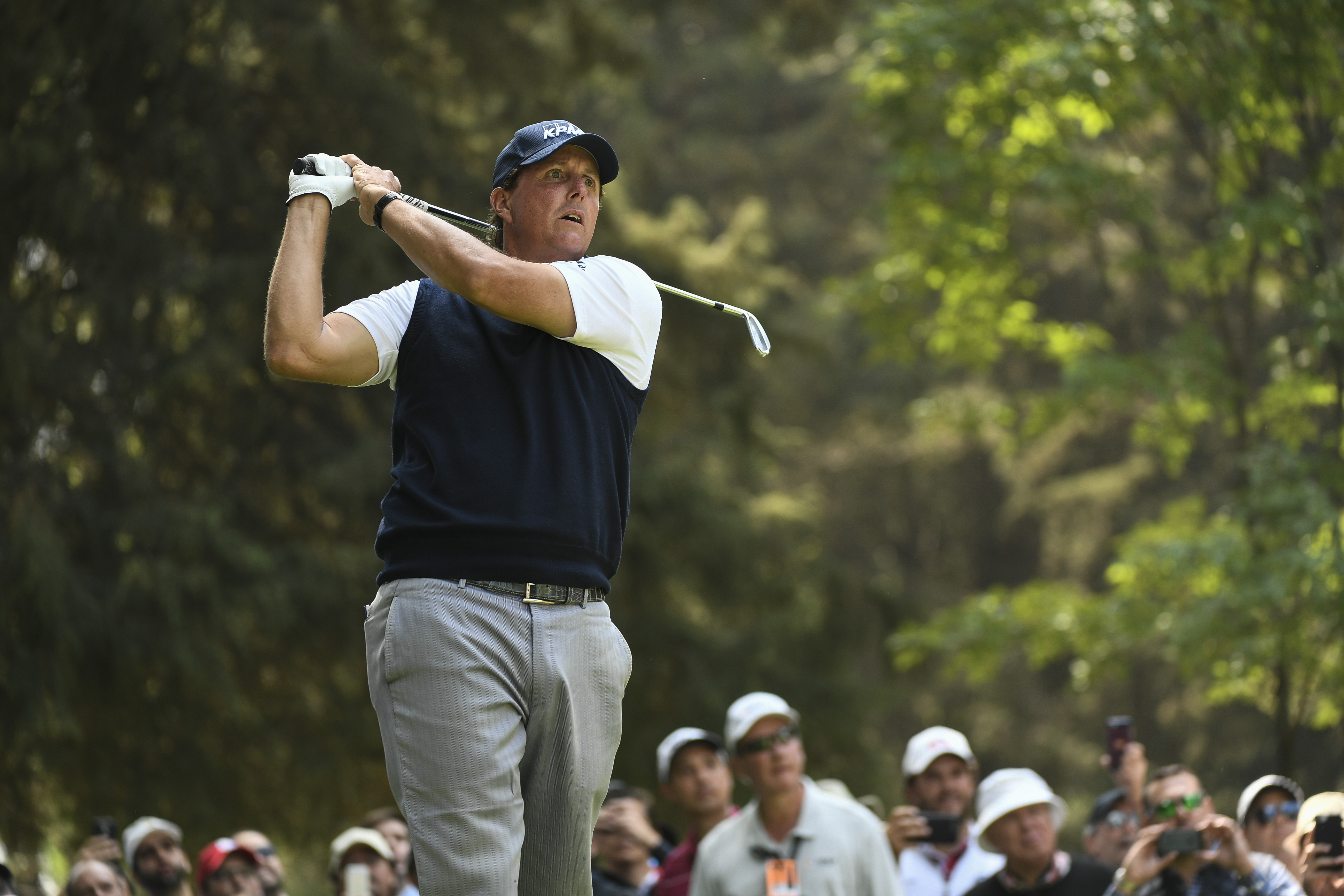 Lefty may be the best golfer at his age until he hangs his spikes up. In 2014 and '15, it seemed like he might quietly fade away, but he rallied to make the 2016 Ryder Cup team and still continues to be competitive on Tour. Mickelson somehow finished 12th on the Tour money list last year.  <b><p>Also receiving votes:</b> Jim Furyk