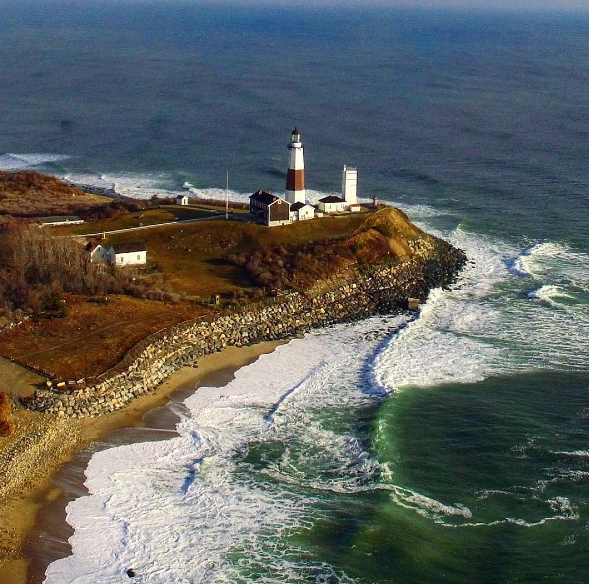 The Montauk Point Lighthouse is the oldest in the state of New York.