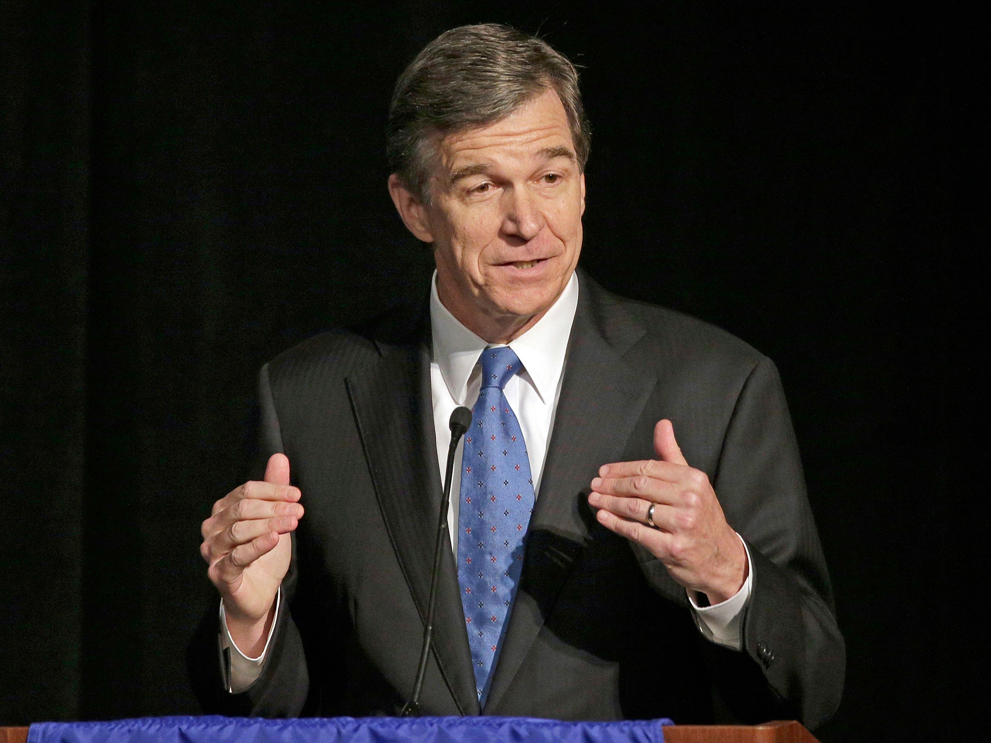 North Carolina's governor, Roy Cooper, is hoping to repeal HB2, the law that caused the NCAA and other organizations to pull events and businesses from the state.
