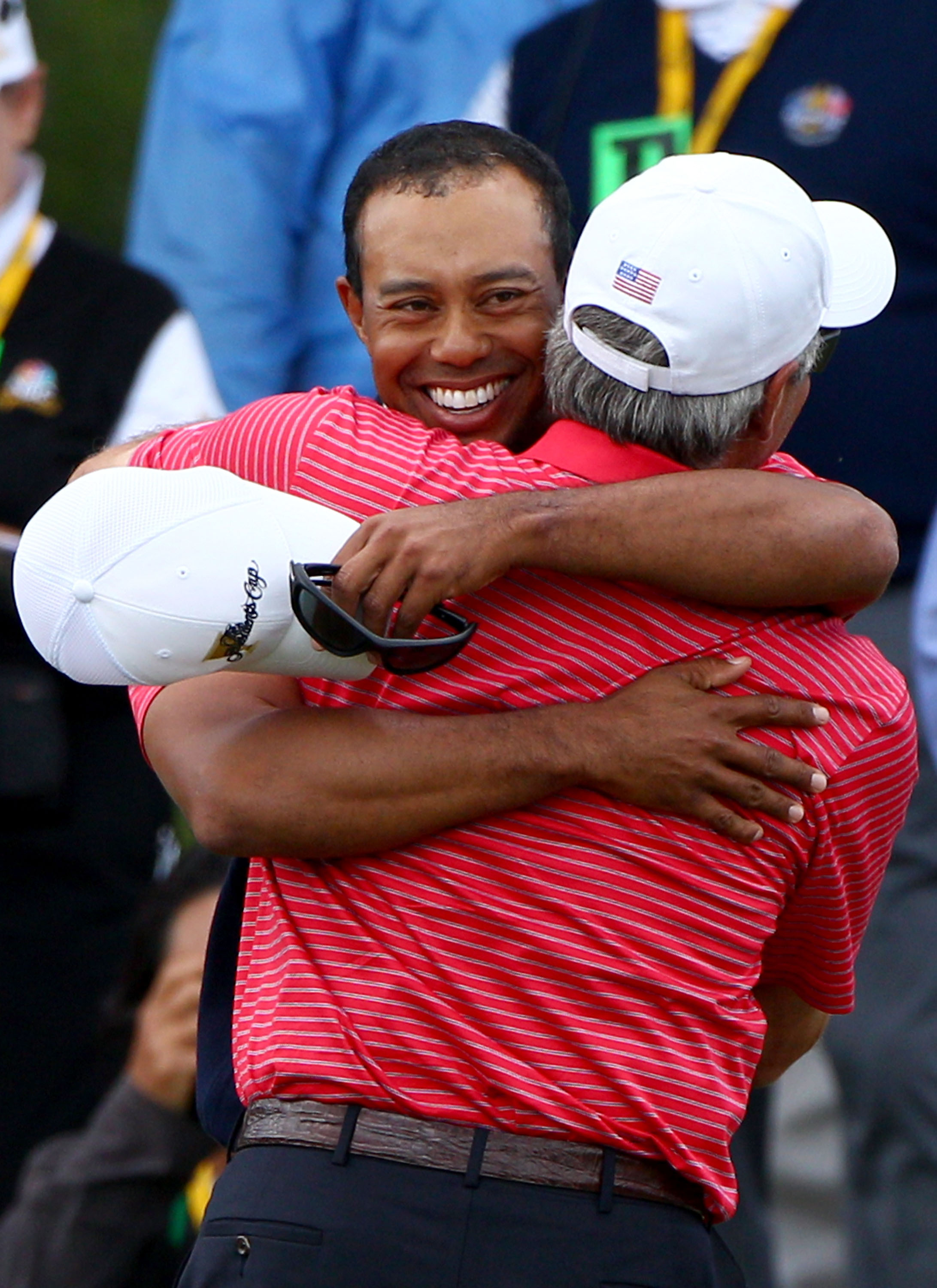 Couples (with Tiger Woods) captained three straight victorious Presidents Cup teams.