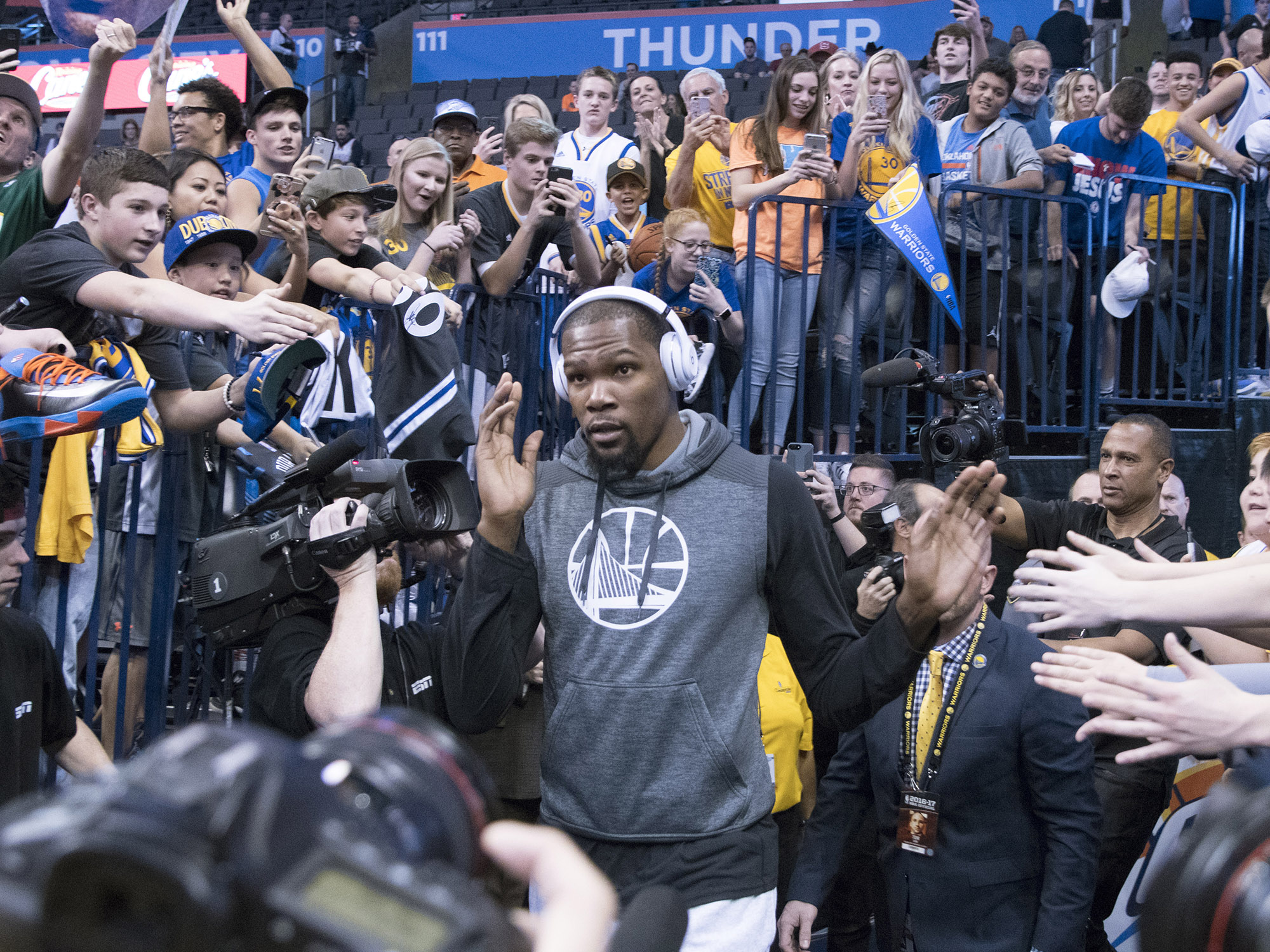 Warriors own Thunder yet again, even without Kevin Durant