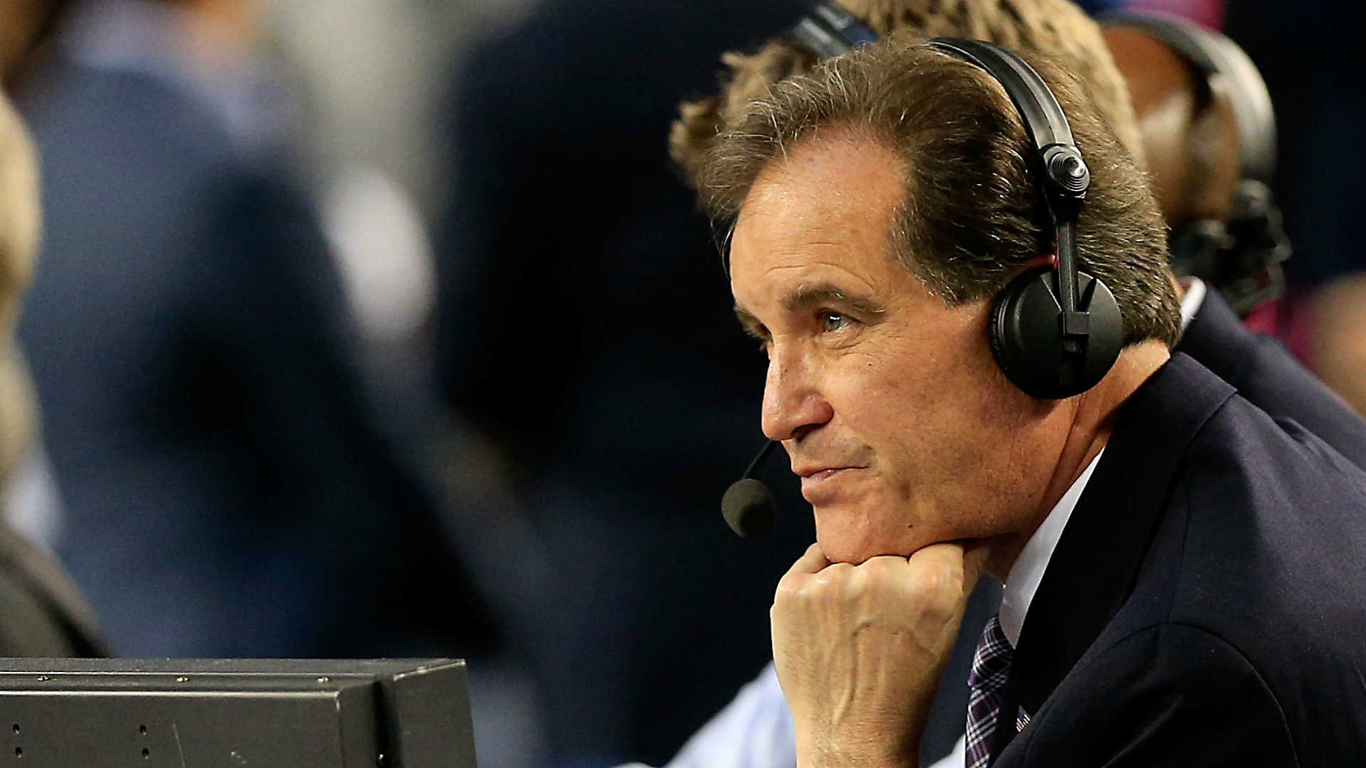 There are no frowns at the Jim Nantz Exceedingly Pleasant Pro-Am