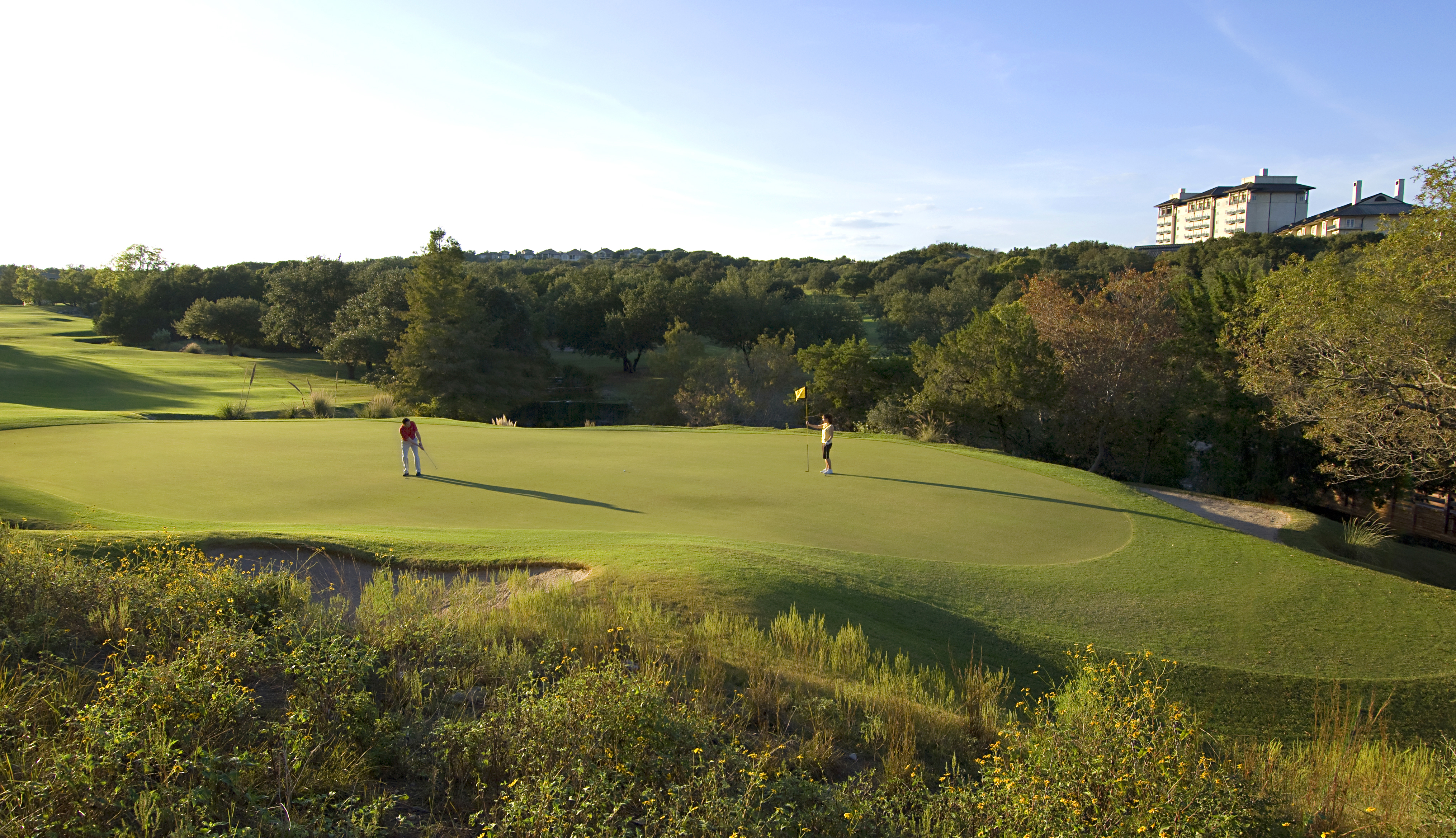 The Fazio Foothills course at the Omni Barton Creek Resort & Spa in Austin.