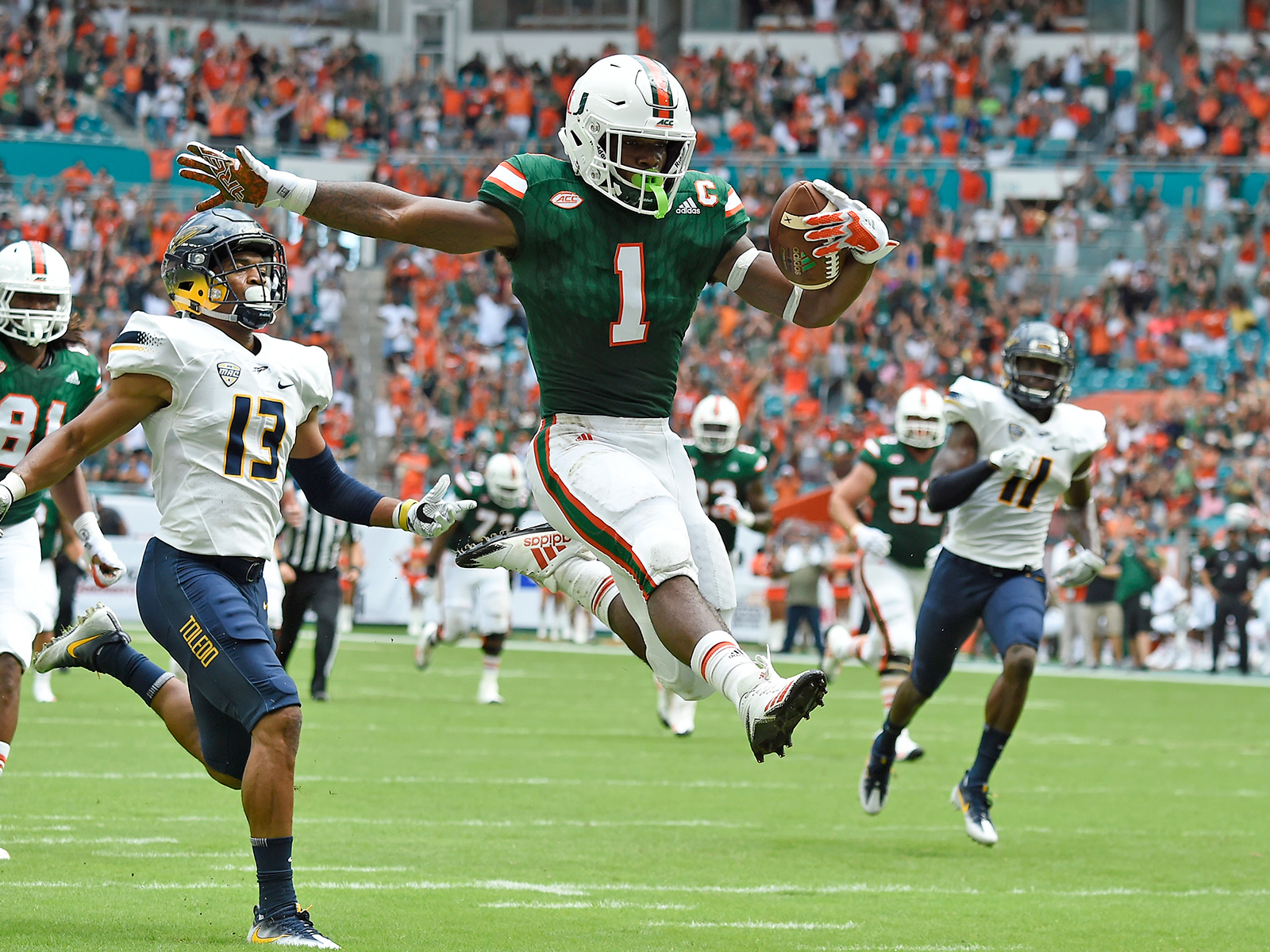 Miami Hurricanes Football Game Day Images: Miami. - State of the U Miami hurricanes football photo gallery