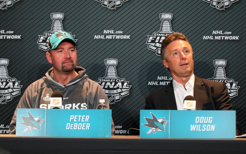 San Jose Sharks Given Long Odds To Win 2017 Stanley Cup