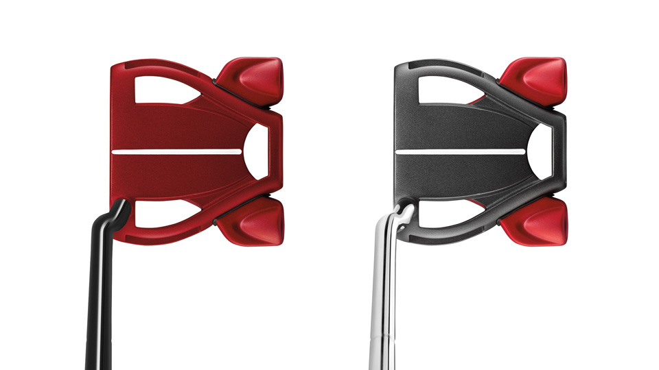 The new TaylorMade Spider Limited putters.